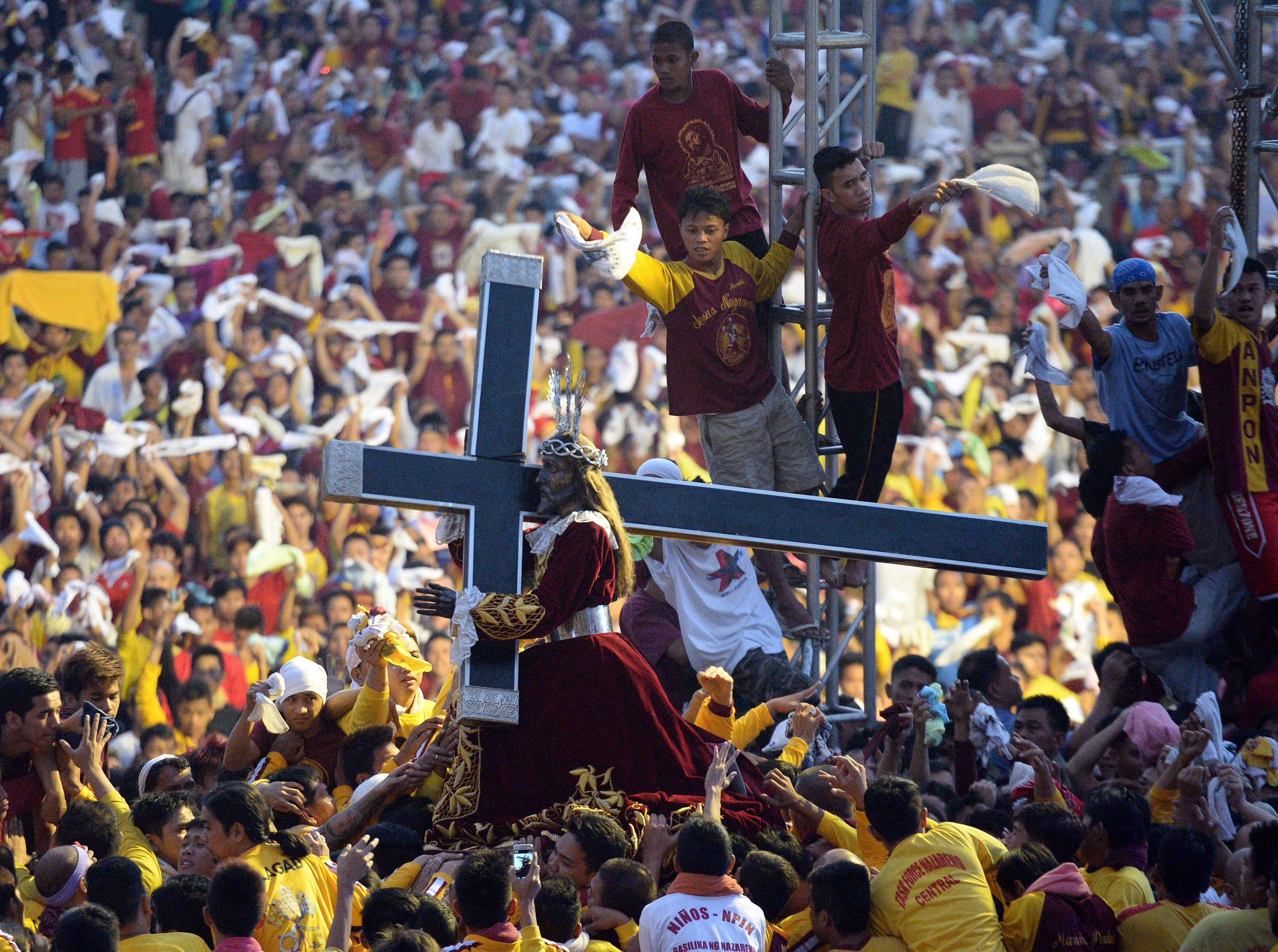 Millions Join the Procession of the Black Nazarene in Manila | Time