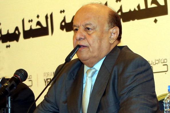 Yemen President Abd Rabbu Mansour Hadi