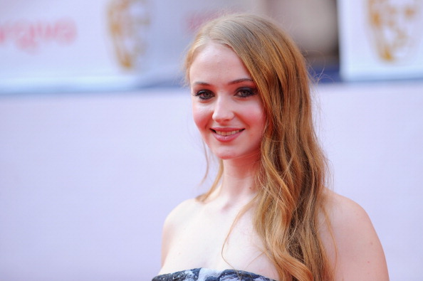 Sophie Turner attends the Arqiva British Academy Television Awards at Theatre Royal in London on May 18, 2014