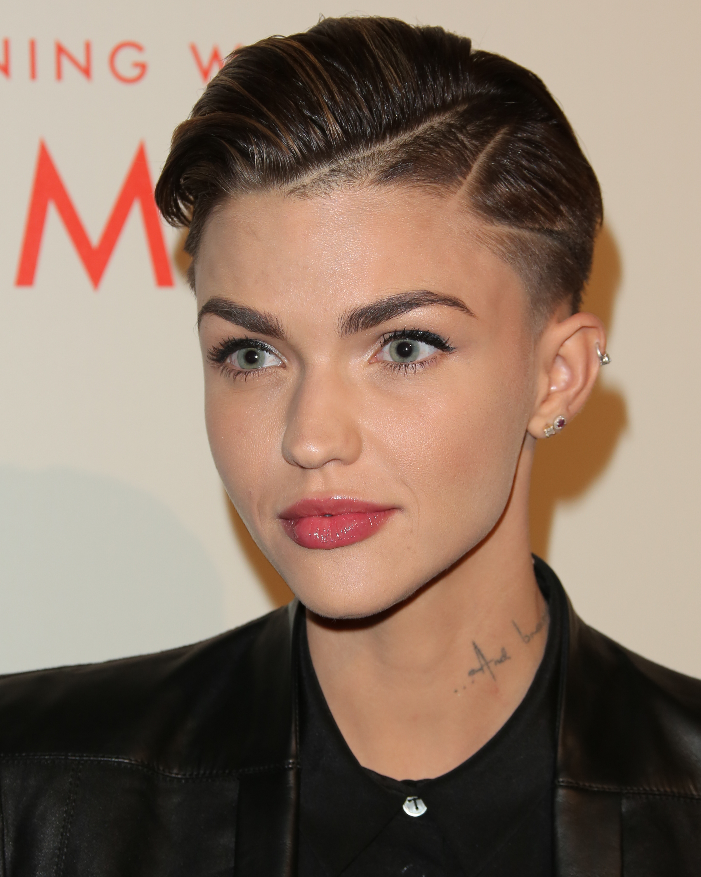 TV Personality / DJ Ruby Rose attends the L.A. Gay & Lesbian Center's 2014 An Evening With Women at The Beverly Hilton Hotel