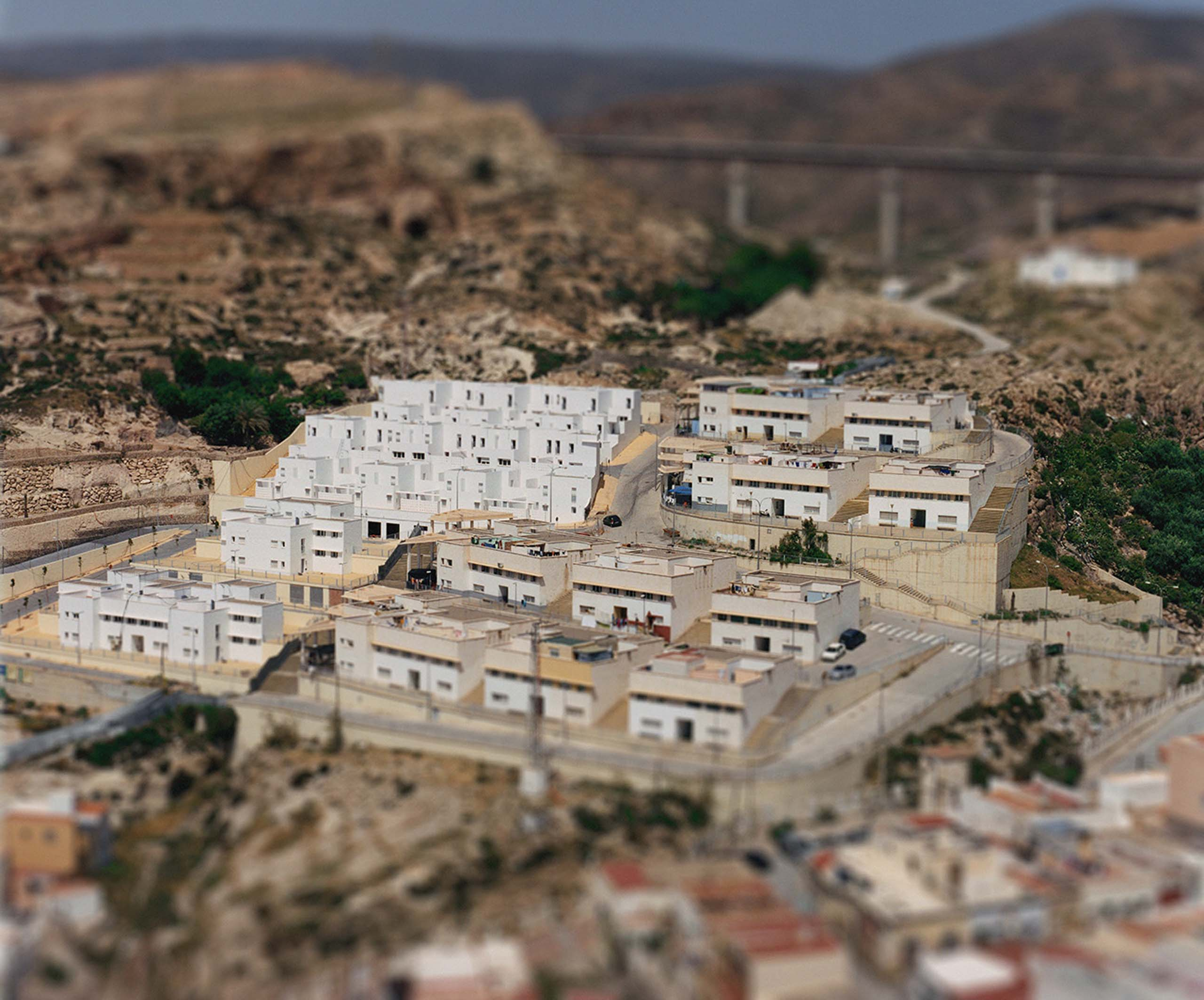 Barrio Almeria from the series Aerial