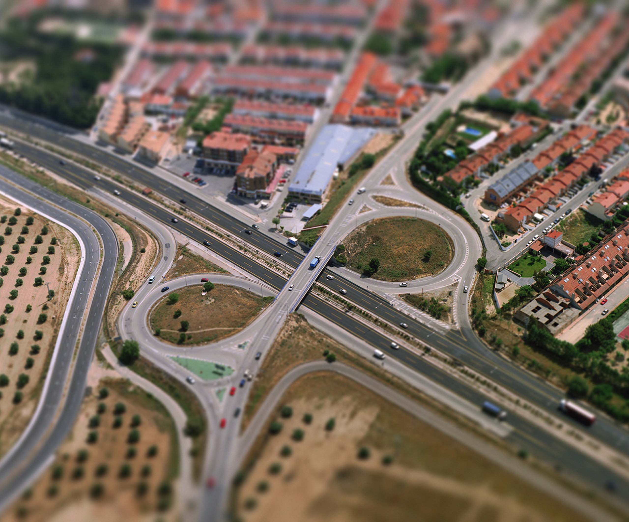 Distribuidor from the series Aerial