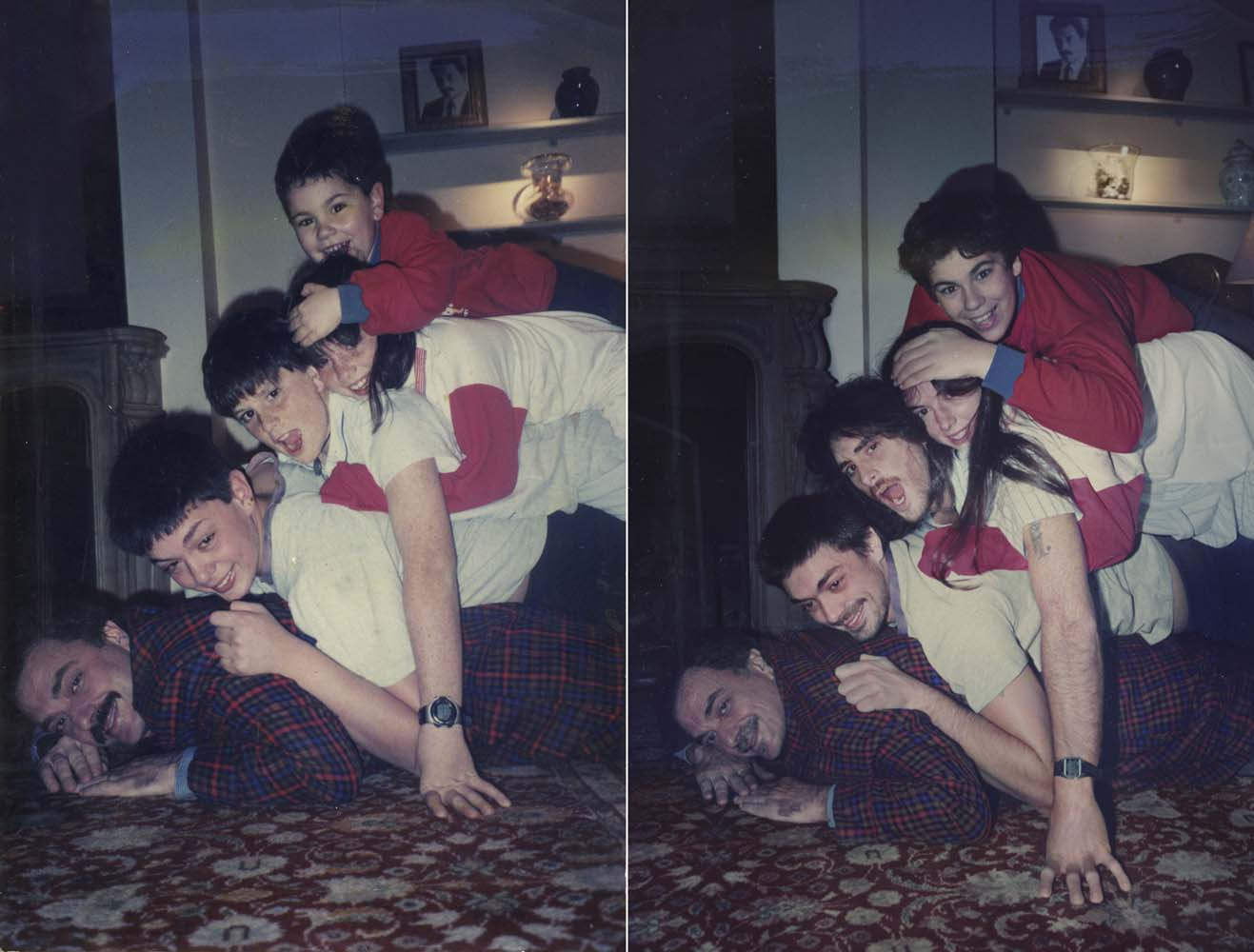 Zurbano Family from the series Back to the Future