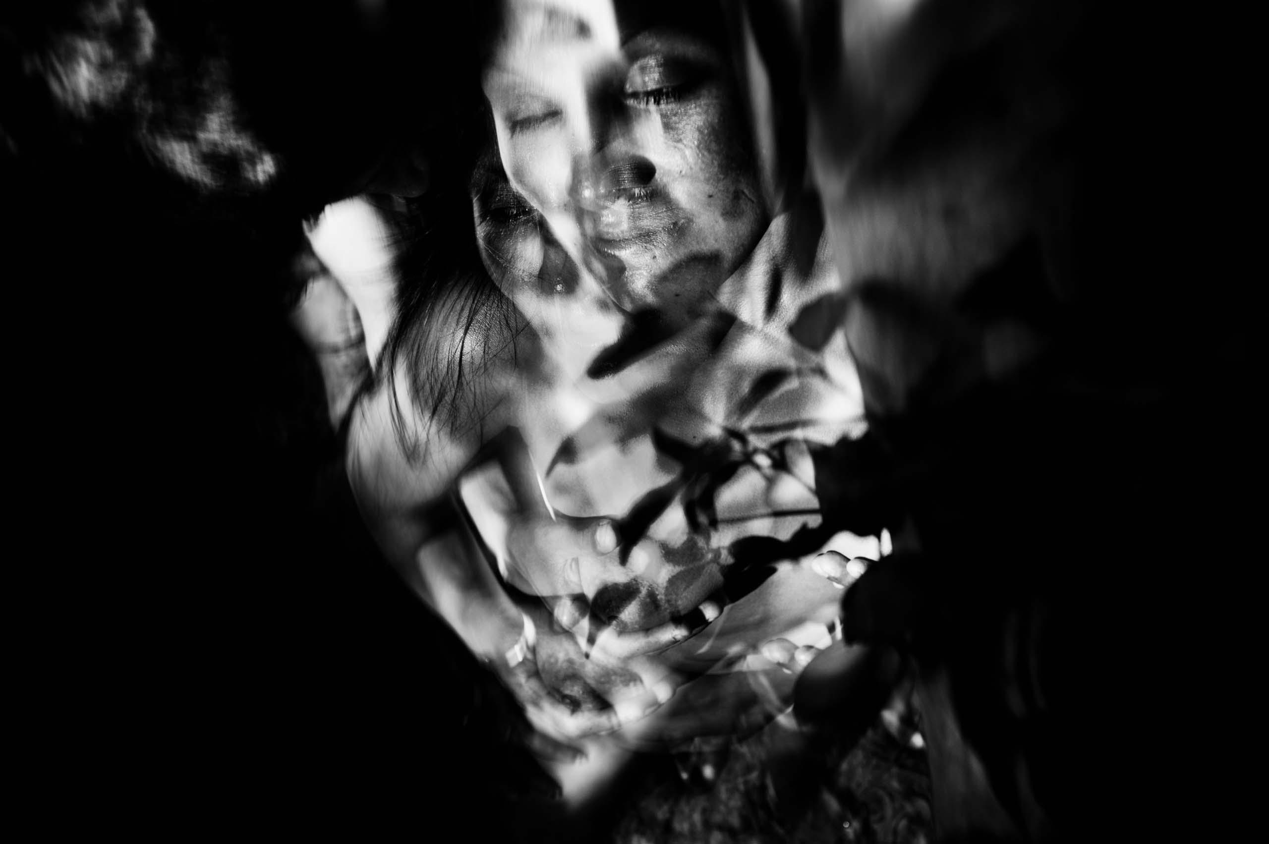 Untitled from the series The City Blurred