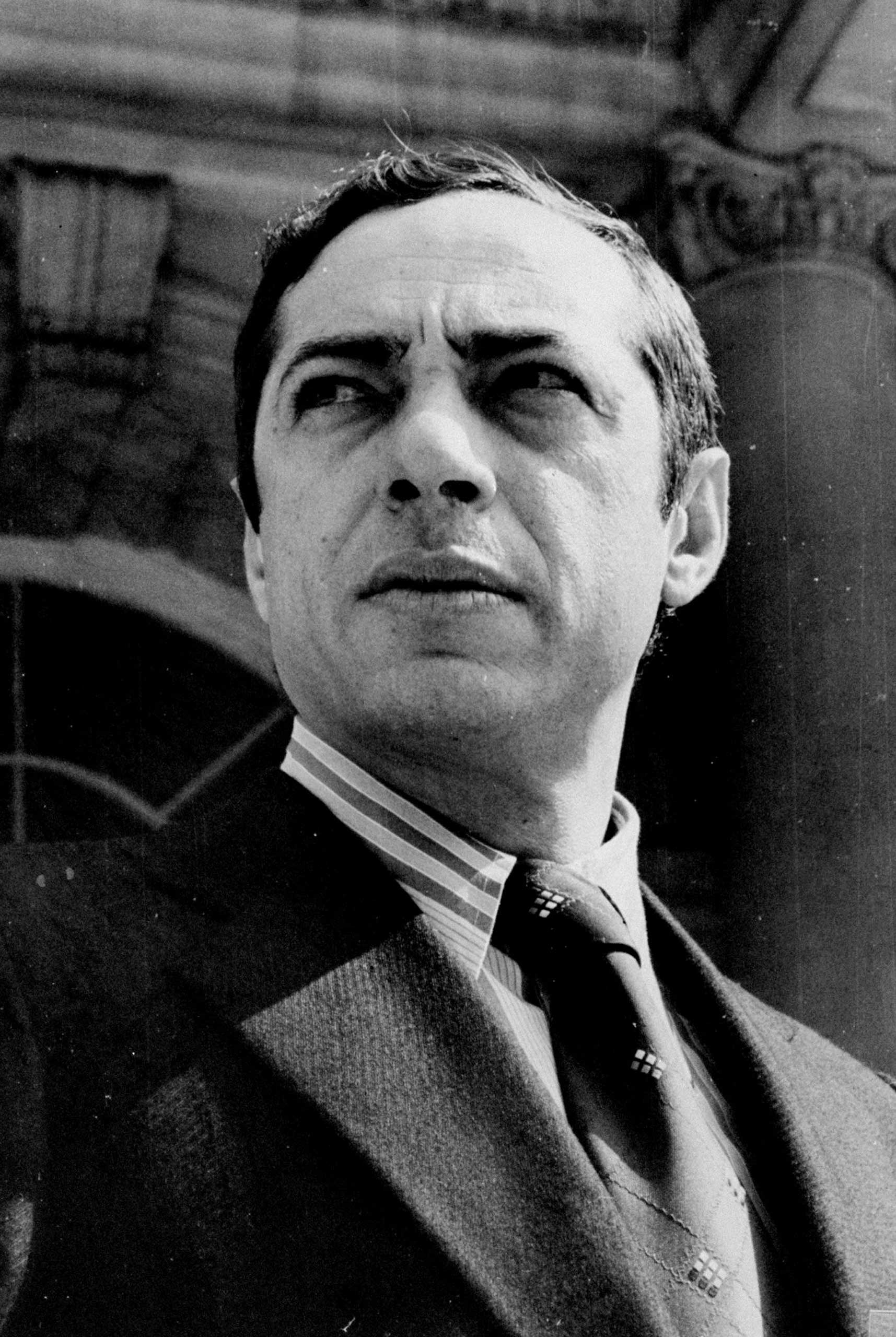 Mario Cuomo, Democratic candidate for Lt. Gov. of New York State, at City Hall in New York City on Aug. 30, 1974.
