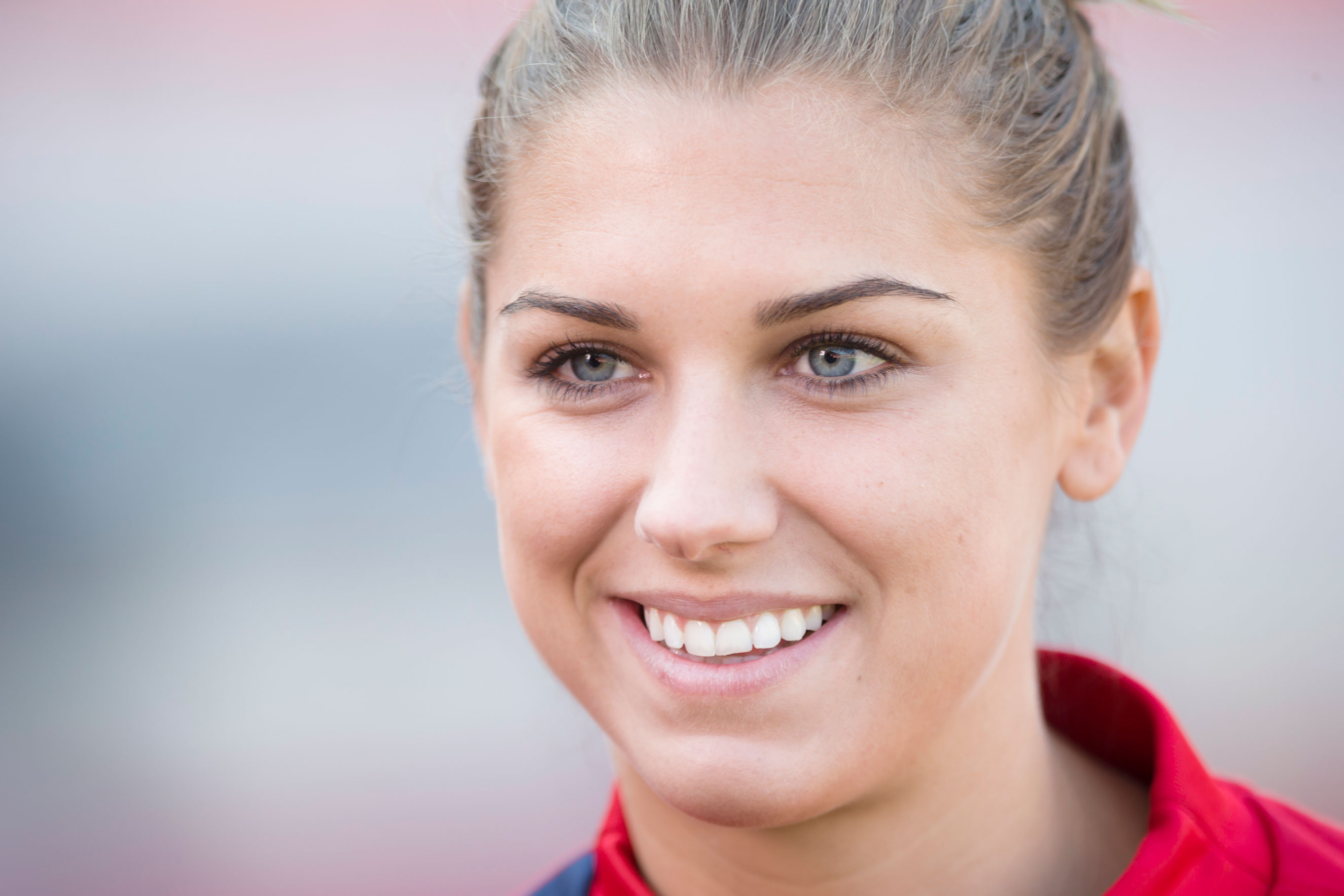 Alex Morgan of the USA Women's National Team at Candlestick Park in San Francisco on Oct. 26, 2013.