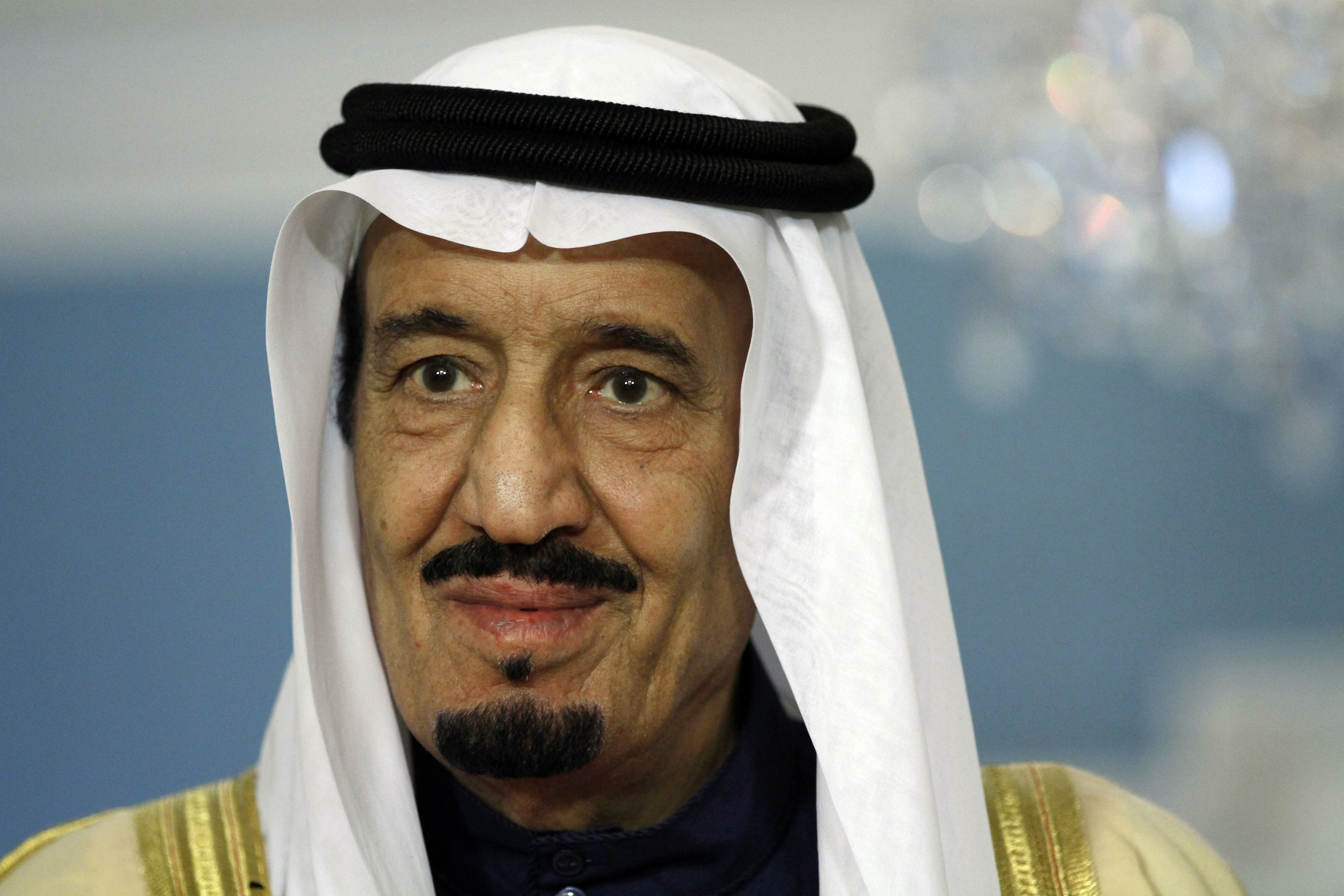 Then-Crown Prince Salman during a visit to Washington in 2012.