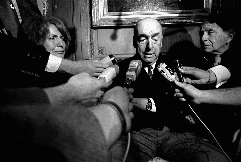 Pablo Neruda in 1971.