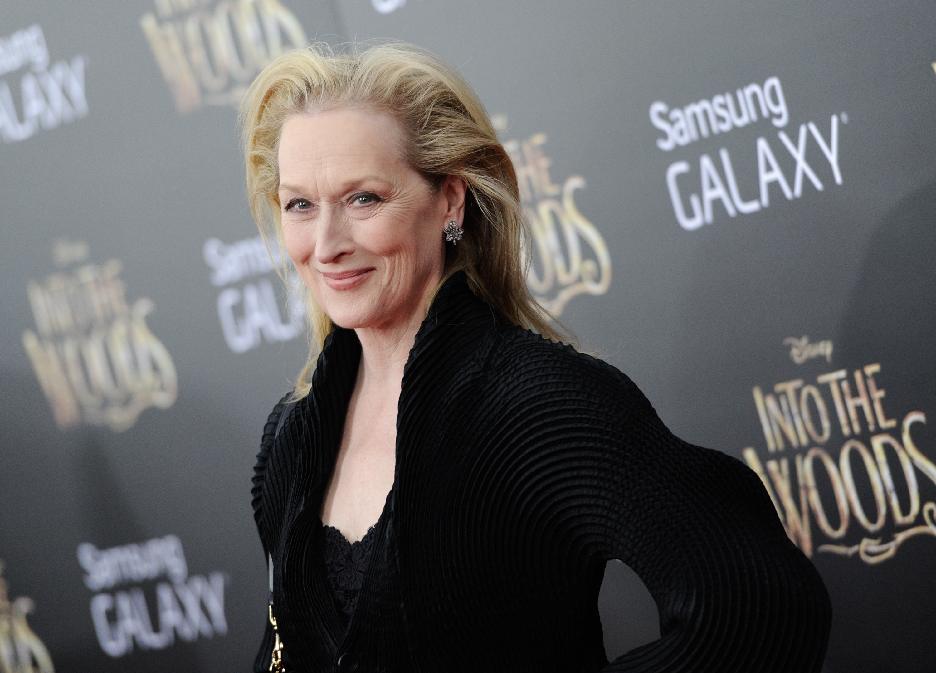 Meryl Streep attends the premiere of  Into The Woods  at the Ziegfeld Theatre on Dec. 8, 2014, in New York.