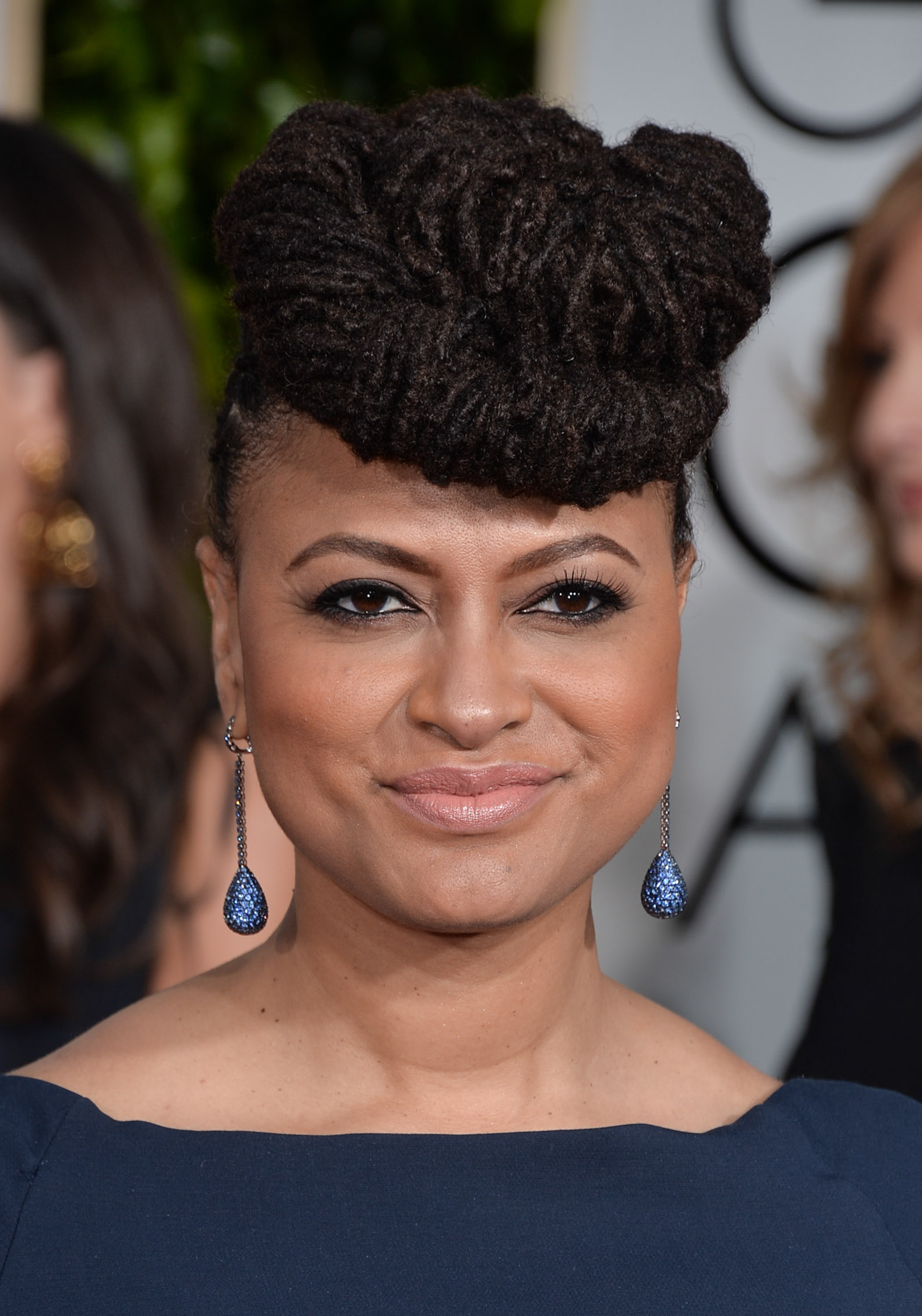 Director Ava DuVernay attends the 72nd Annual Golden Globe Awards.