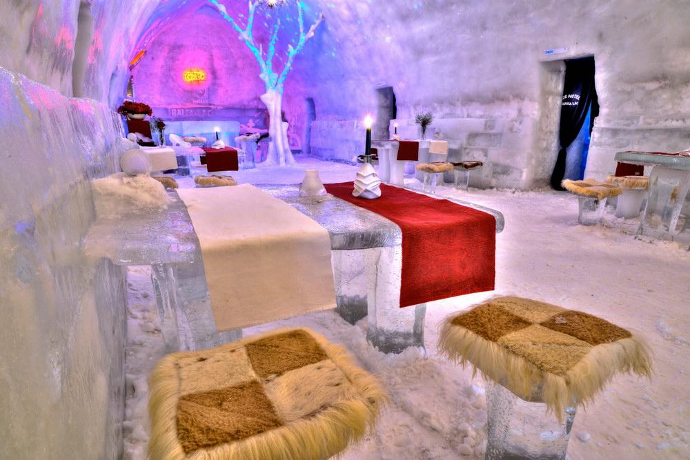 Balea Ice Hotel, Cîrţişoara, Romania