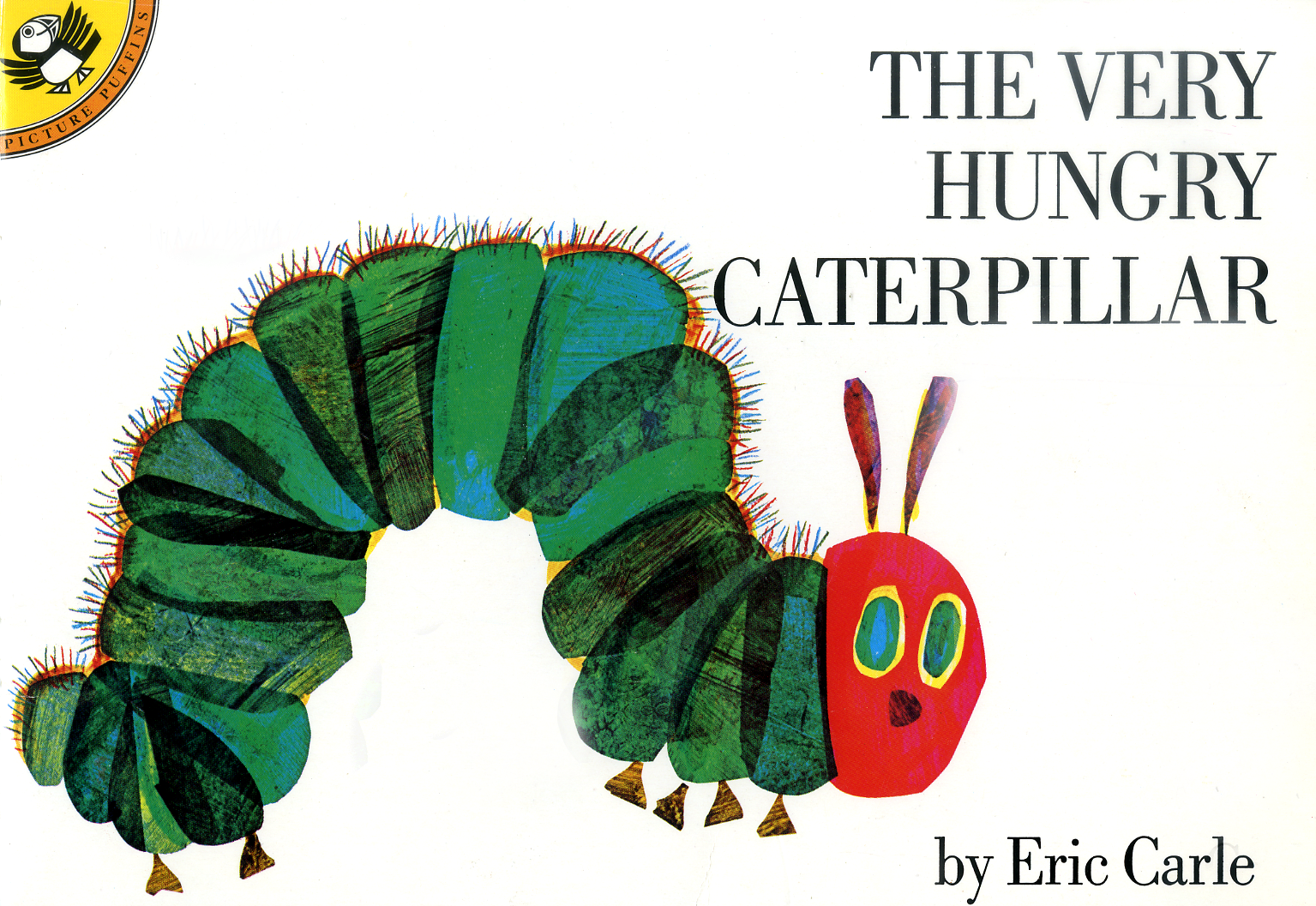 The Very Hungry Caterpillar, by Eric Carle.                                                                                                                            A cheery caterpillar nibbles his way through an assortment of colorful foods and transforms into a butterfly.                                                                                                                            Buy now: The Very Hungry Caterpillar