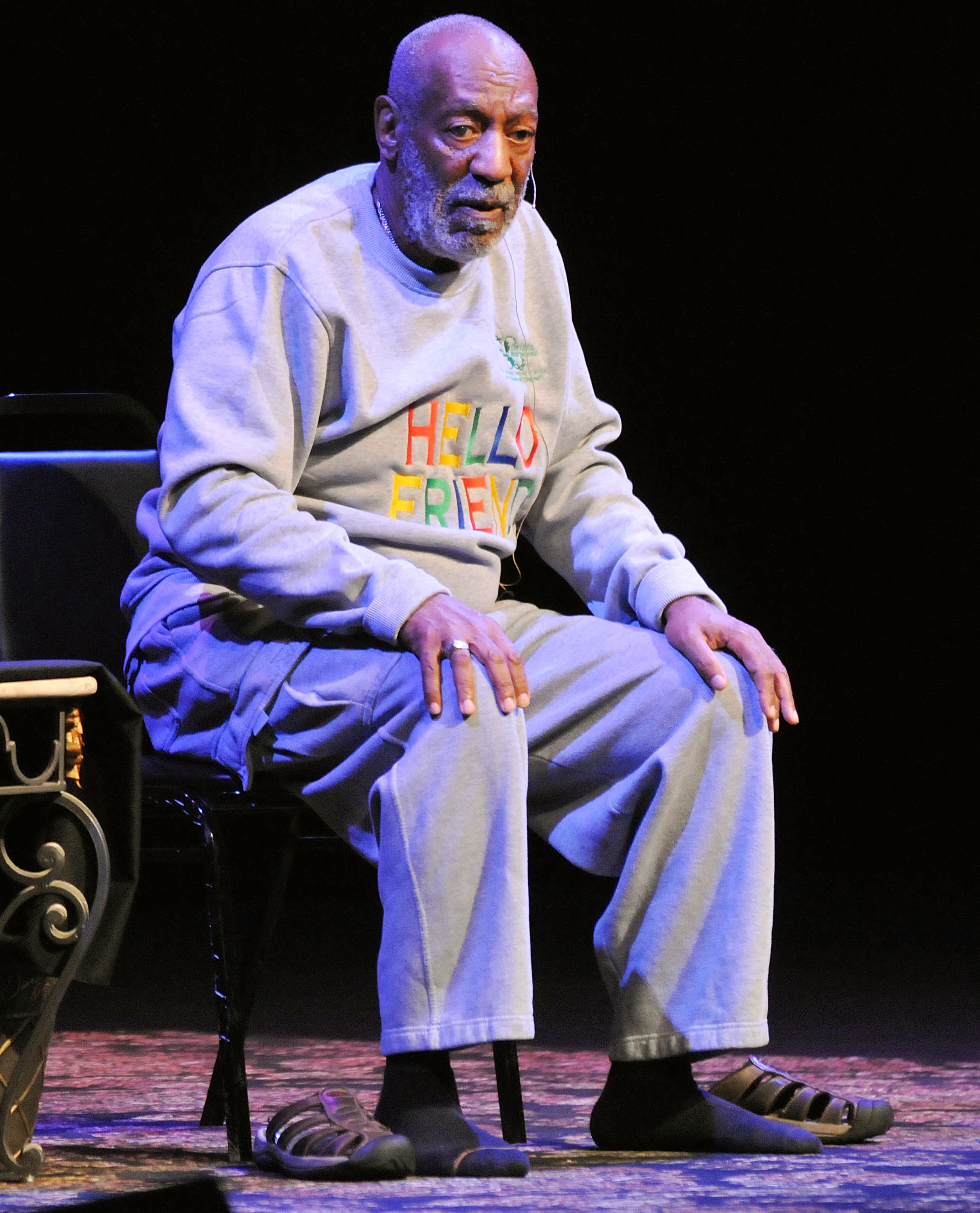 Actor Bill Cosby performs at the King Center for the Performing Arts on Nov. 21, 2014 in Melbourne, Fla.