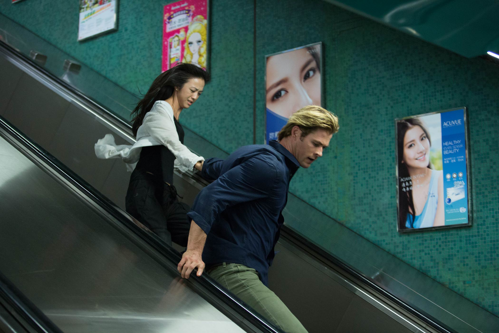 Tang Wei and Chris Hemsworth star in Blackhat