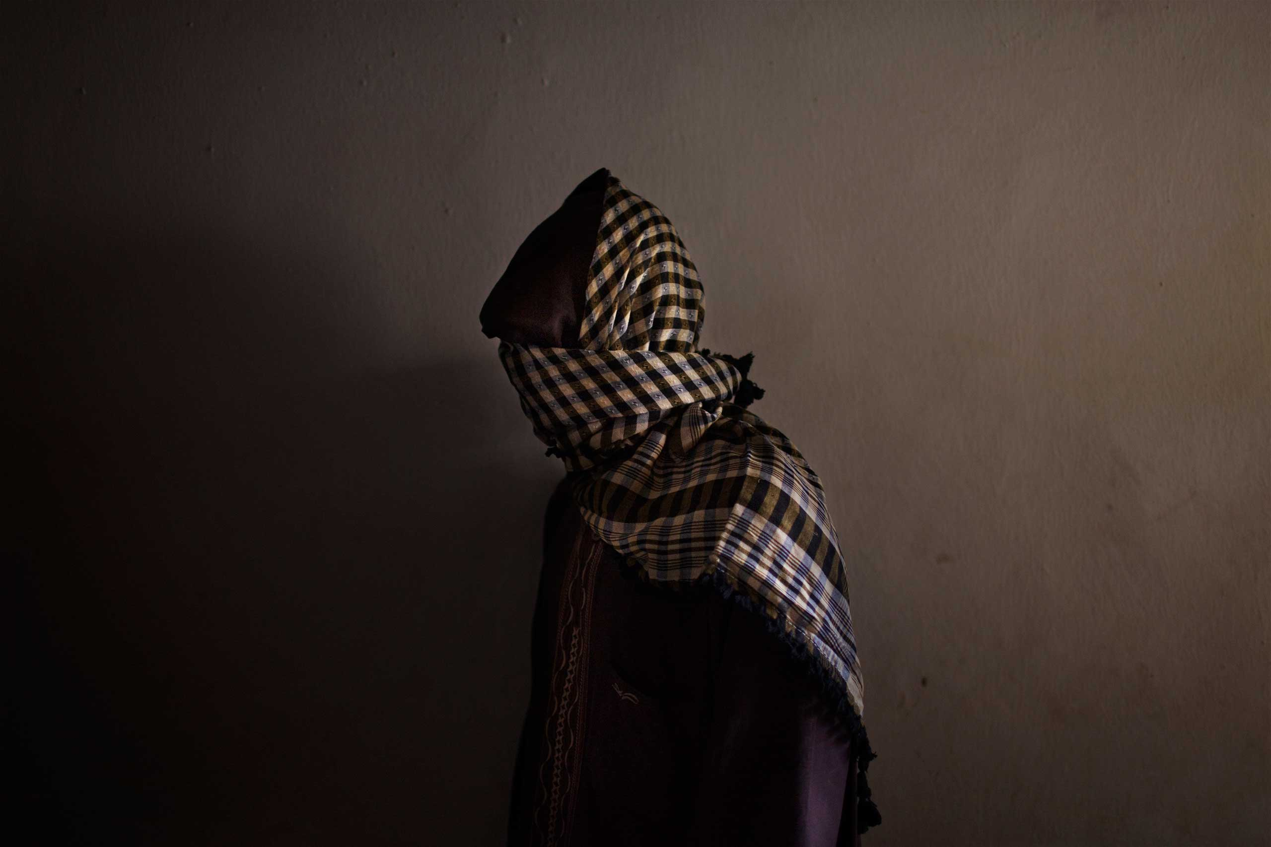 A member of Boko Haram seen in a suburb of Kano, Nigeria, in 2012