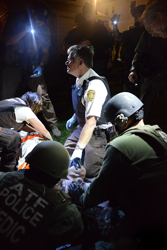 <b>7:46:48 p.m.</b> Tactical units tend to Tsarnaev.