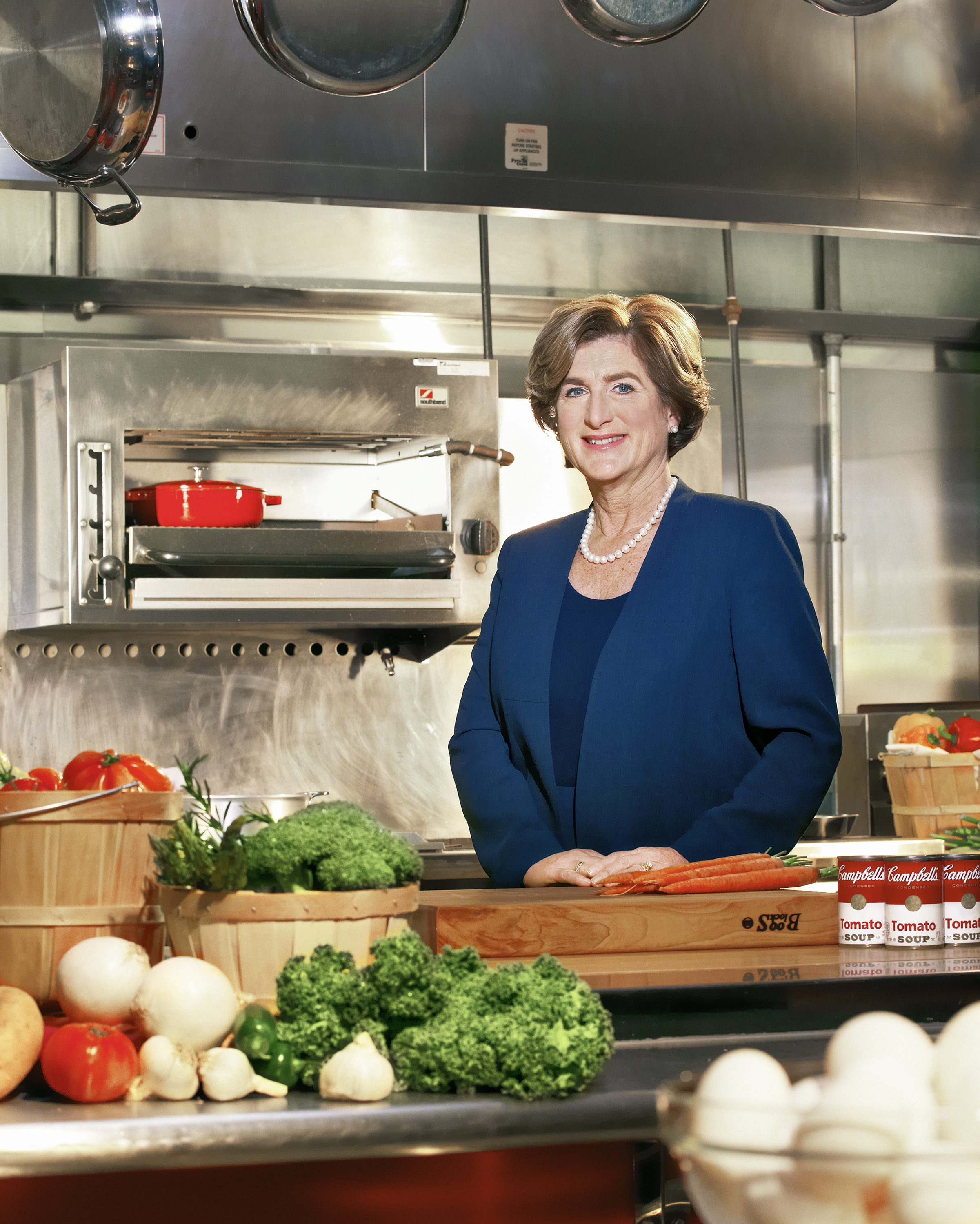 Soup or salad? CEO Denise Morrison is reinventing Campbell's offerings, including more fresh foods