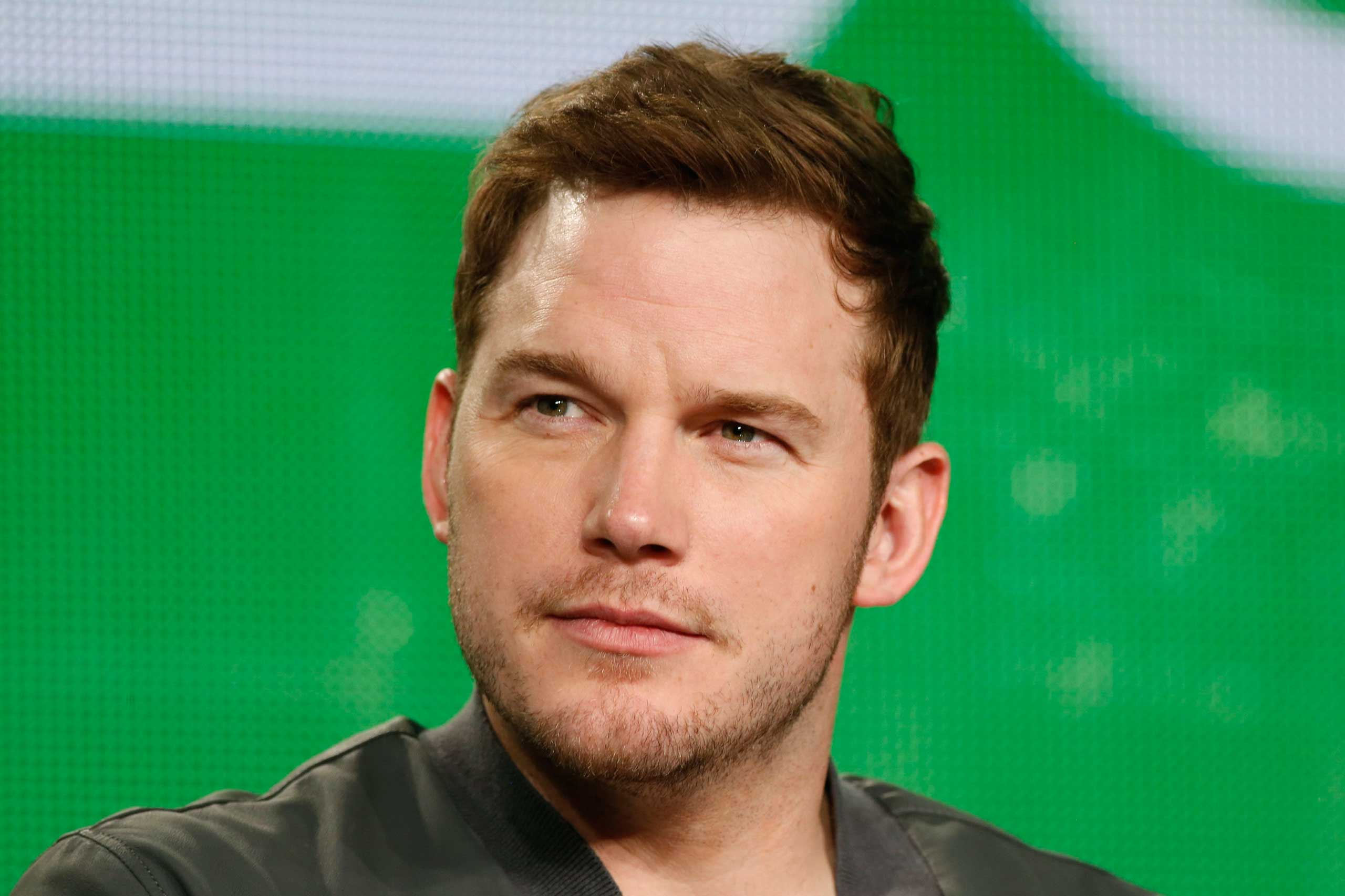 Chris Pratt speaks about the NBC television show  Parks and Recreation  during the TCA presentations in Pasadena, Calif., Jan. 16, 2015.