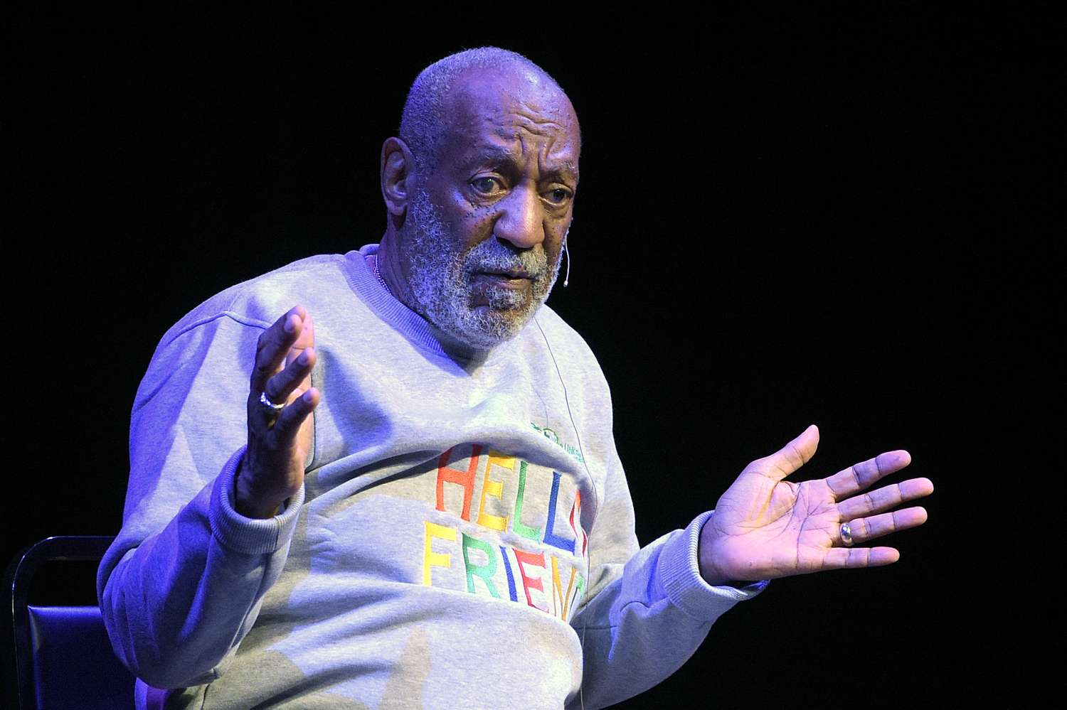 Bill Cosby performs at the Maxwell C. King Center for the Performing Arts, in Melbourne, Fla.