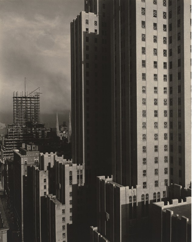 From My Window at the Shelton, West, 1931