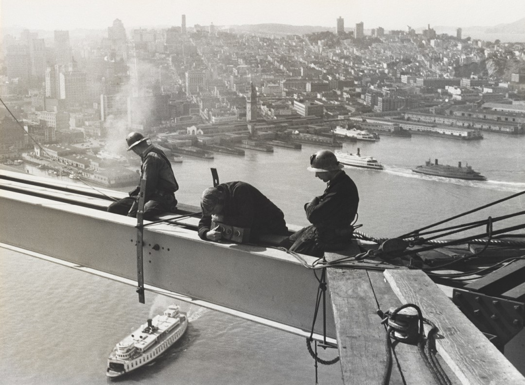 Waiting for Rivets and Steel,                               1935