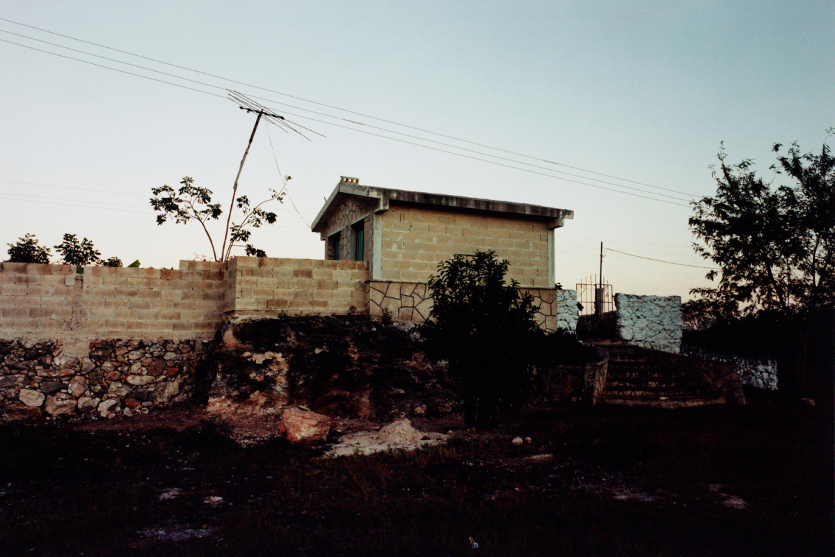 Three Sections of Time, #3, Hoctún, Yucatan, Mexico, 1999