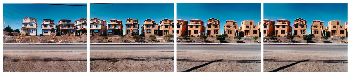 """Trinity Park Development, """"from the upper $500,000s,"""" Alviso, June 2001, from the series Silicon Valley, 2001"""