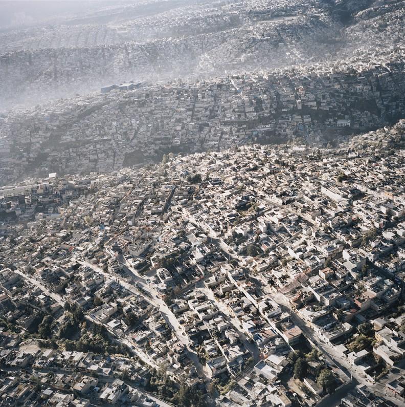 Vista Aéria de la Ciudad de México, XIII (Aerial View of Mexico City, XIII), 2006