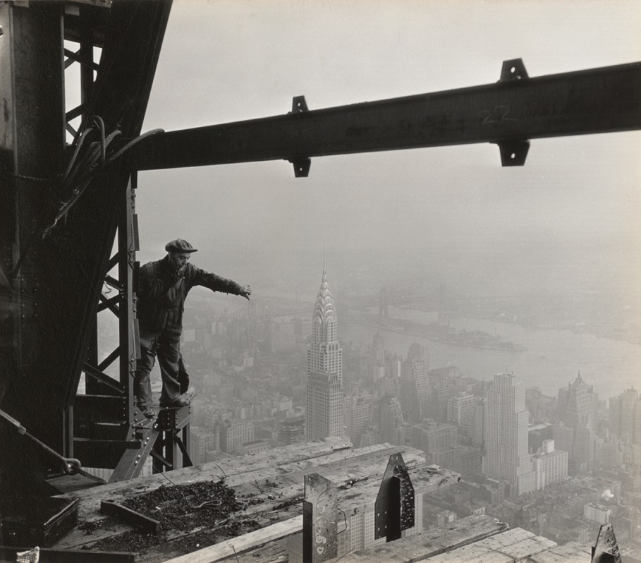 Empire State Building Construction, 1931