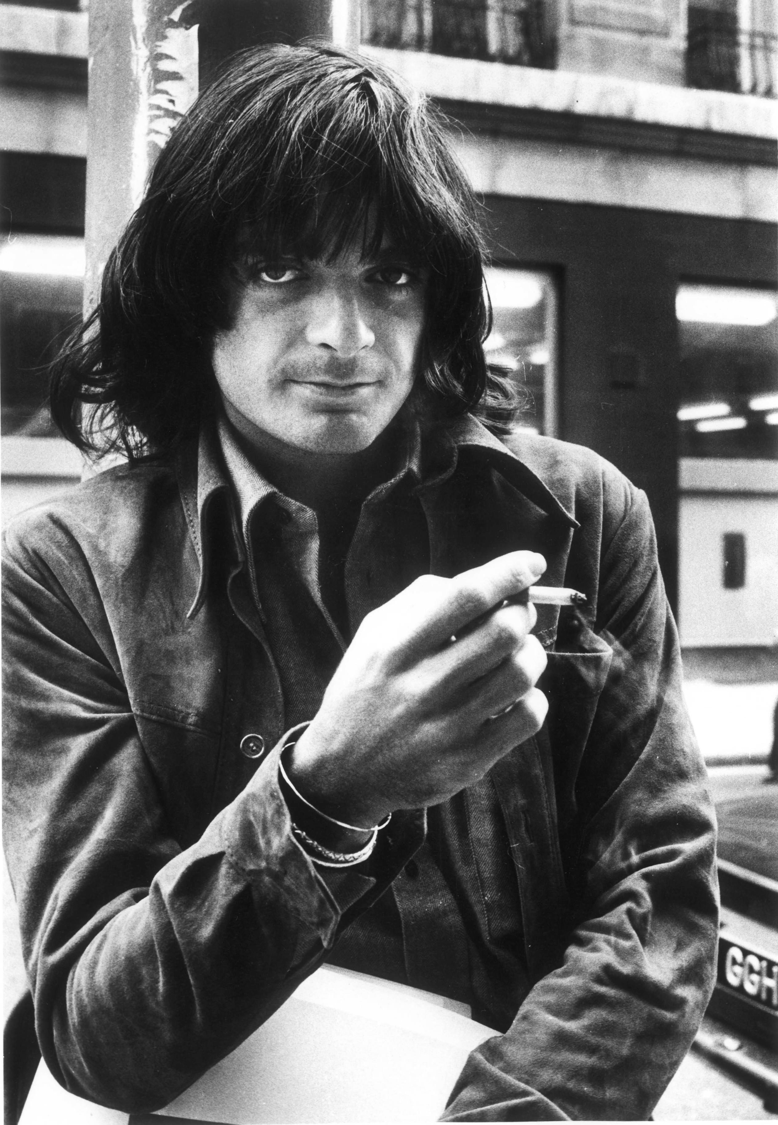 Dallas Taylor in London circa 1973.