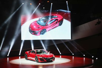 Acura introduces the new NSX at the (NAIAS) on January 12, 2015 in Detroit.