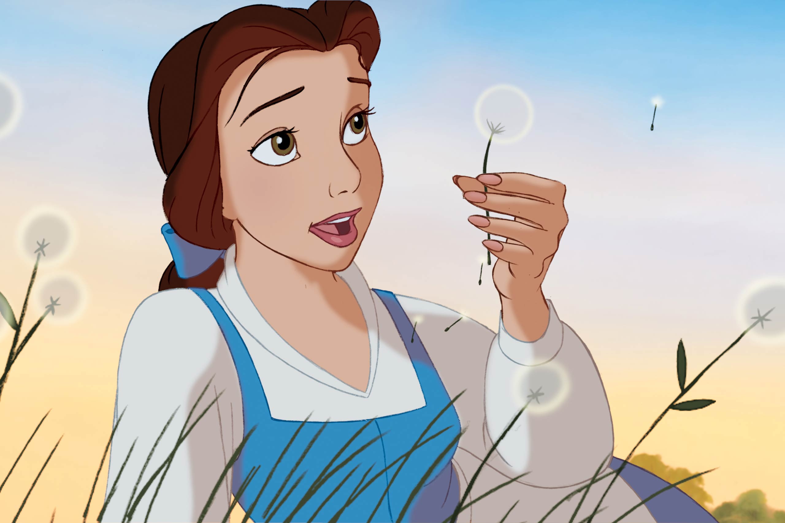 Disney  Beauty & the Beast 3D  Belle. ©2011 Disney. All Rights Reserved.