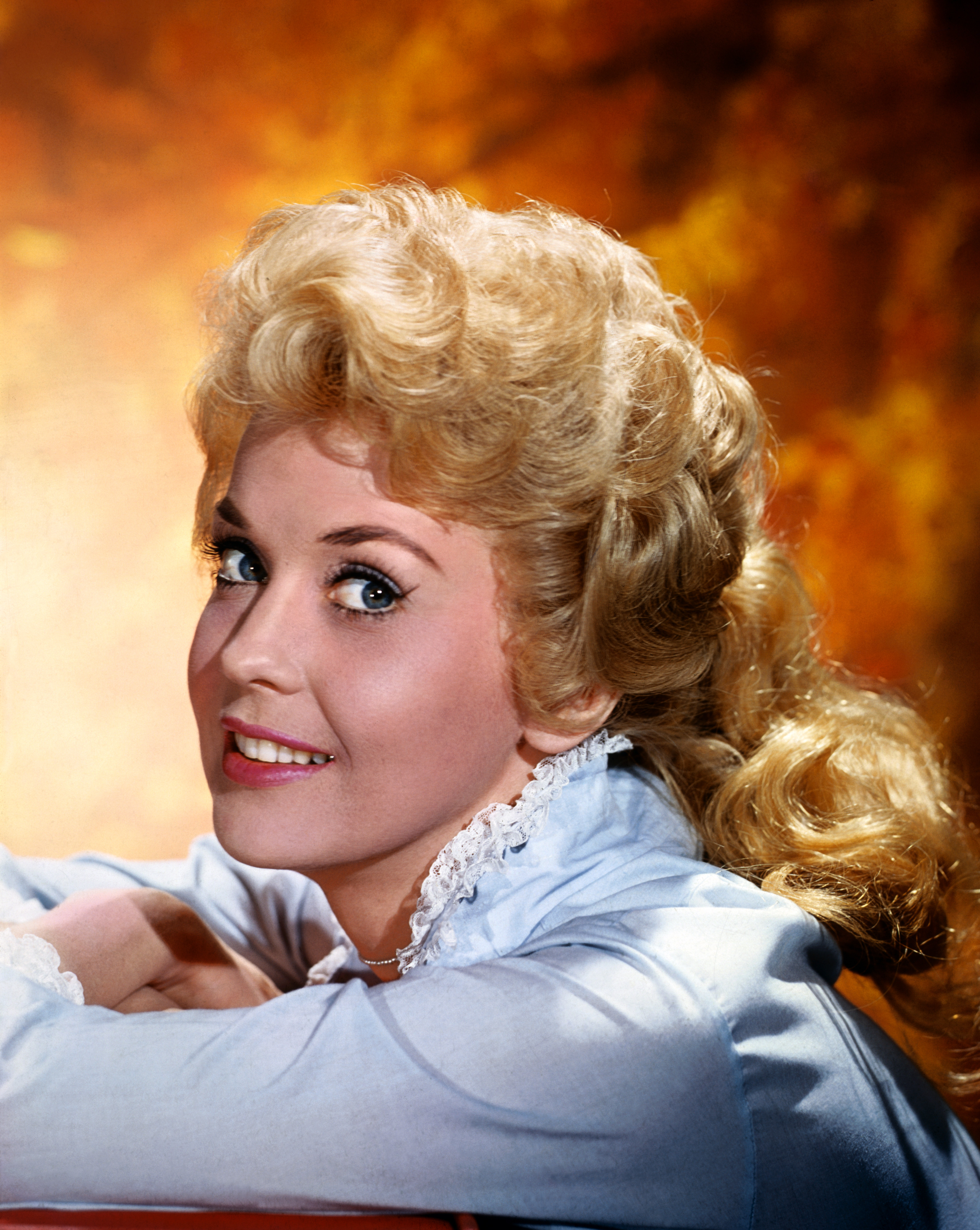 Actress, Donna Douglas from the TV show The Beverly Hillbillies in 1964.