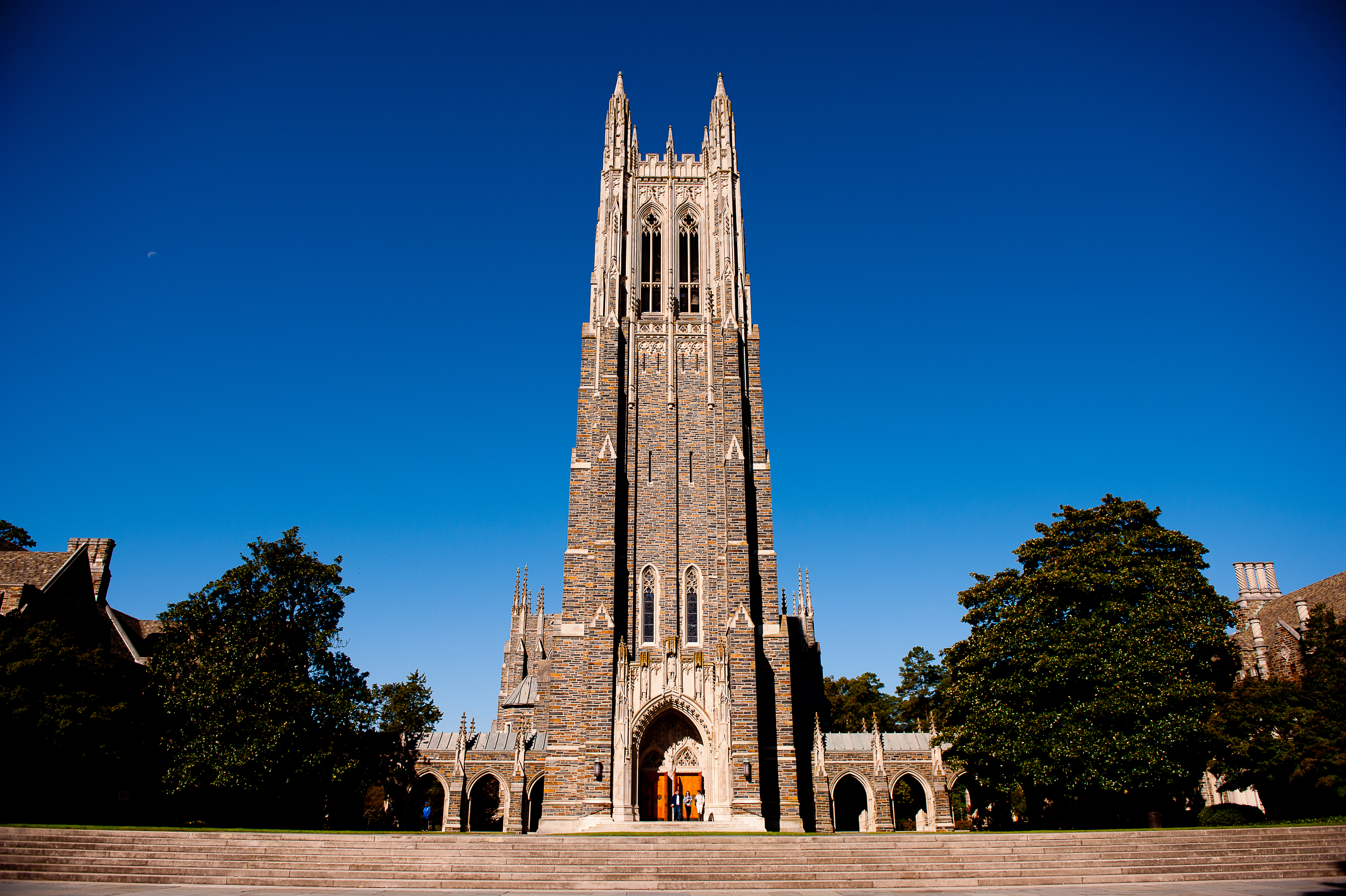 A general view of the Duke University Chapel on campus of Duke University on Oct. 26, 2013 in Durham, North Carolina.
