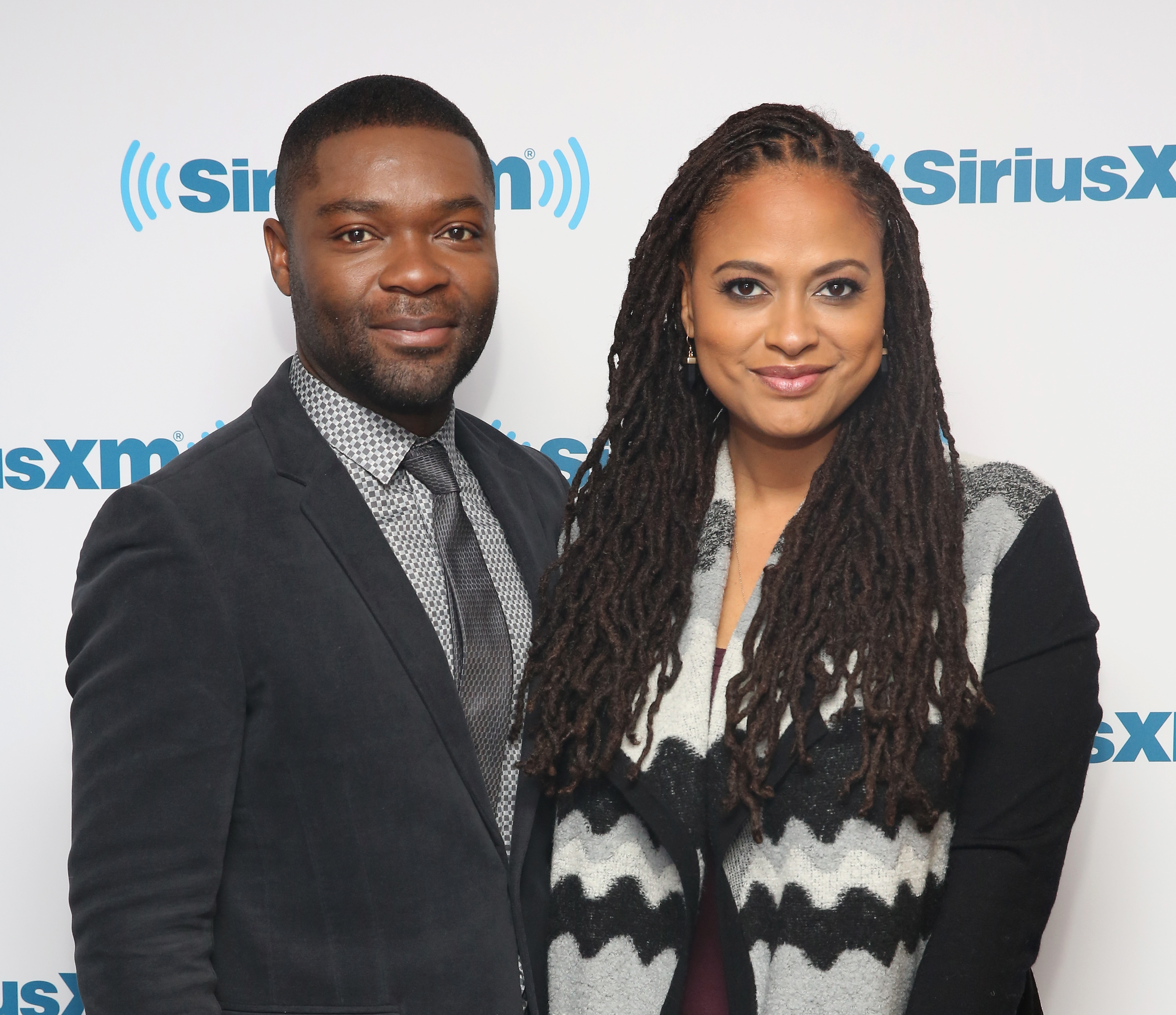 David Oyelowo and Ava DuVernay visit The SiriusXM Studios For  Selma: An Urban View Special  on Jan. 6 in New York City.