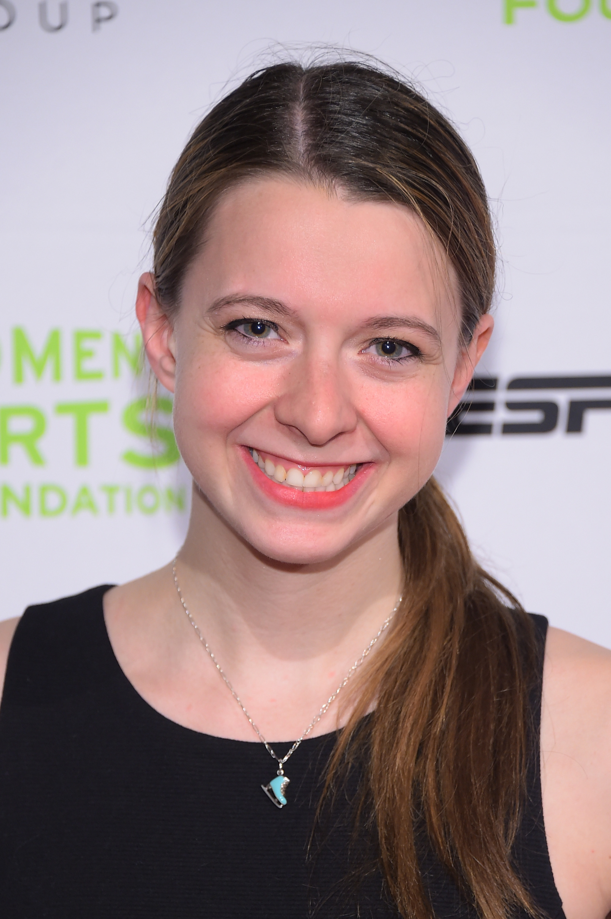Figure Skater Emily Hughes attends the Women's Sports Foundation's 35th Annual Salute to Women In Sports awards on Oct. 15, 2014 in New York City.