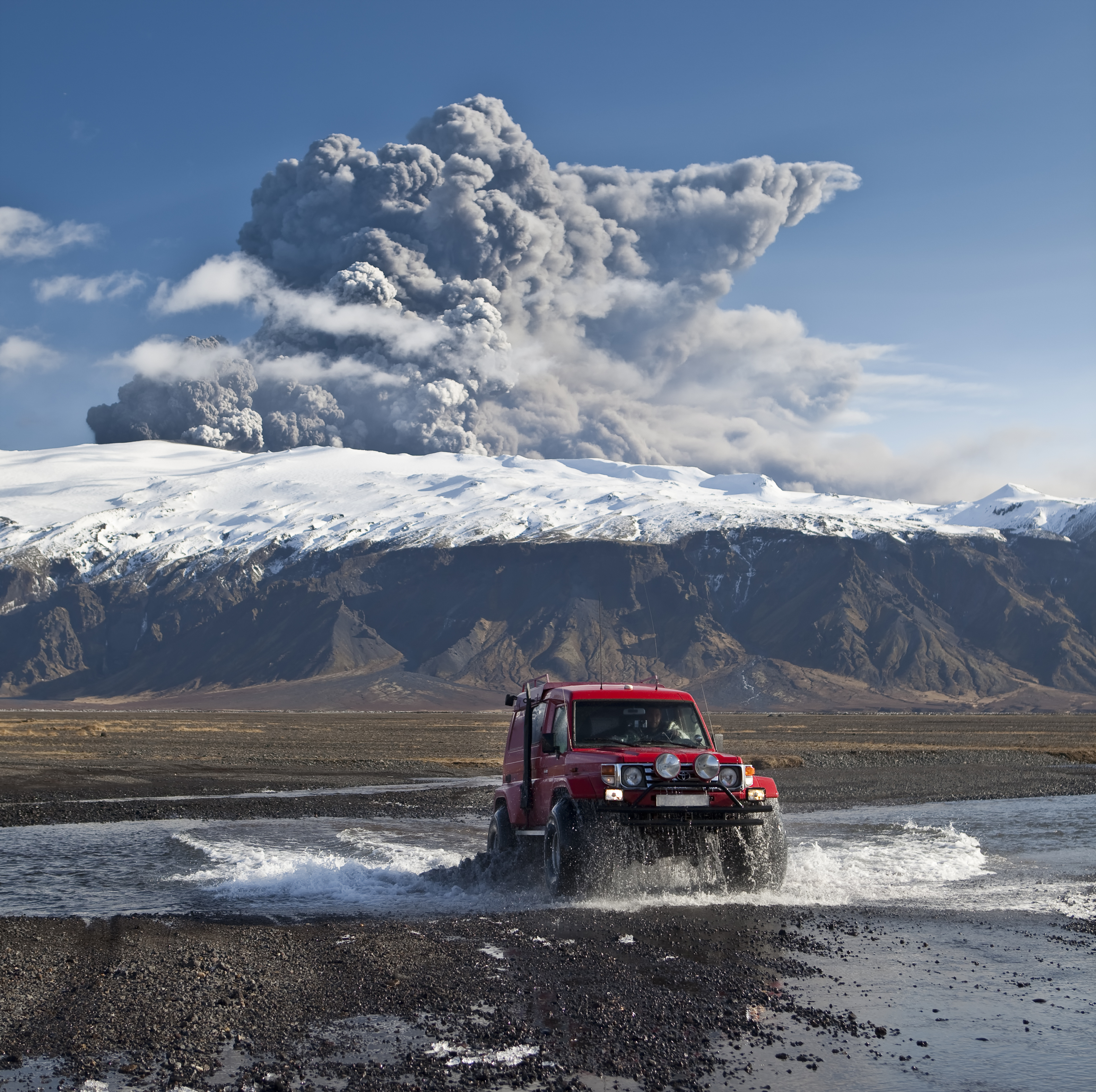 Get used to this: The Eyjafjallajökull eruption in 2010