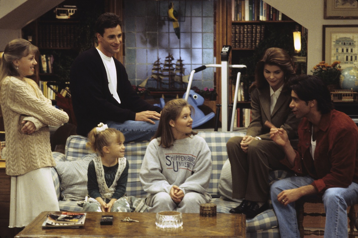 A scene from 'Full House,' which was shuttered 20 years ago