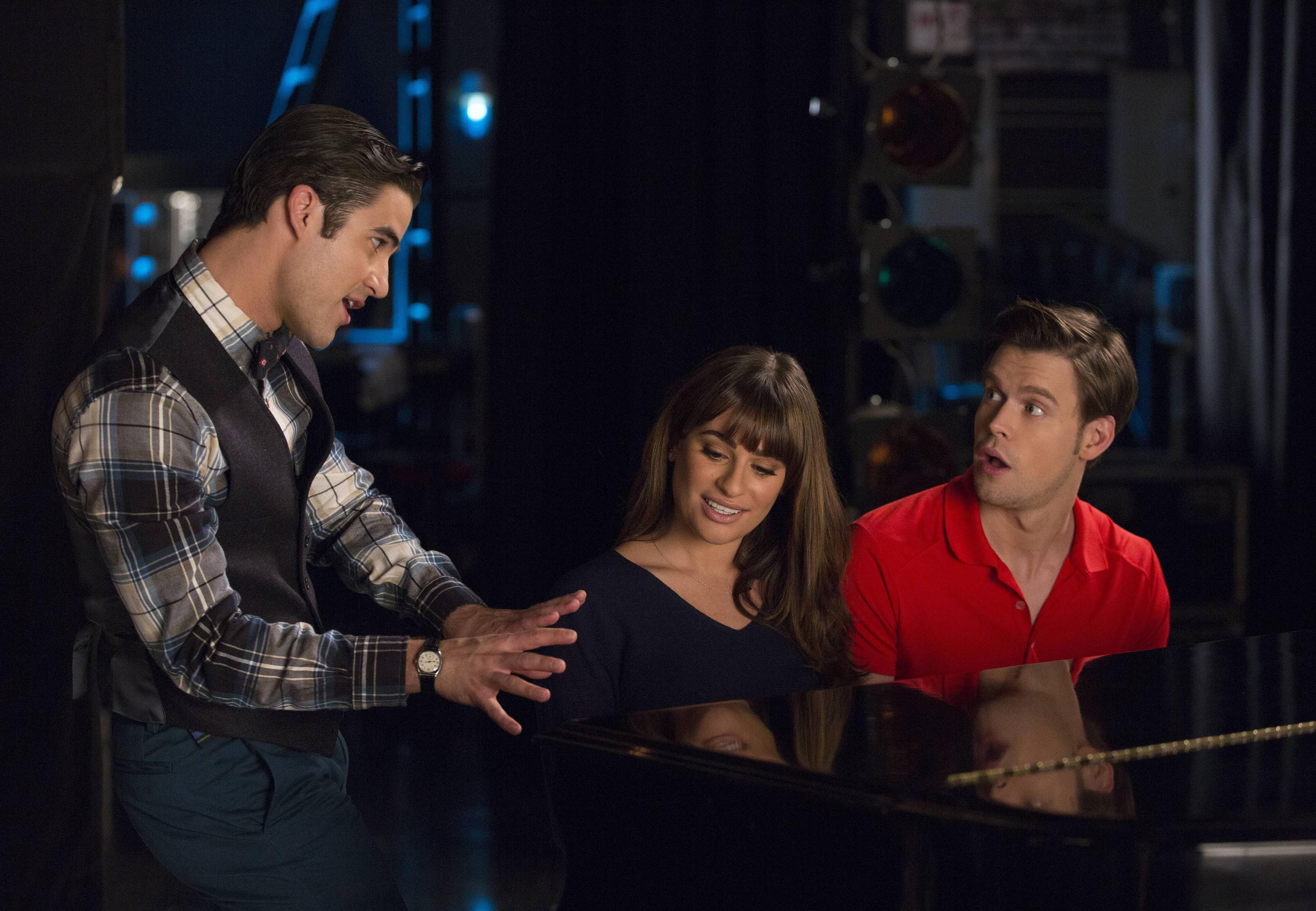 glee che ha fatto Blaine hook up con