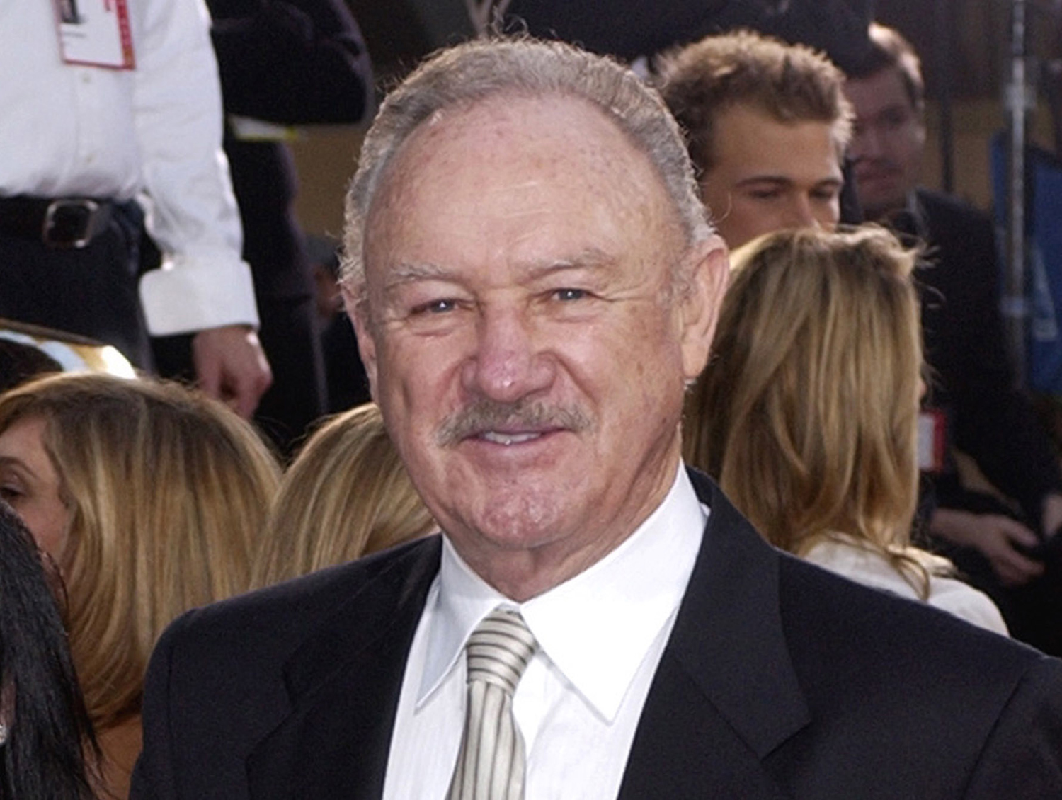 This Jan. 19, 2003 file photo shows actor Gene Hackman at the 60th Annual Golden Globe Awards in Beverly Hills, Calif.