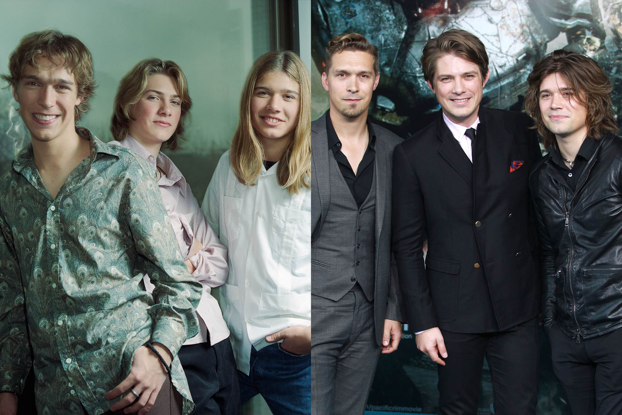 <strong>Isaac, Taylor and Zac Hanson (Hanson)</strong>