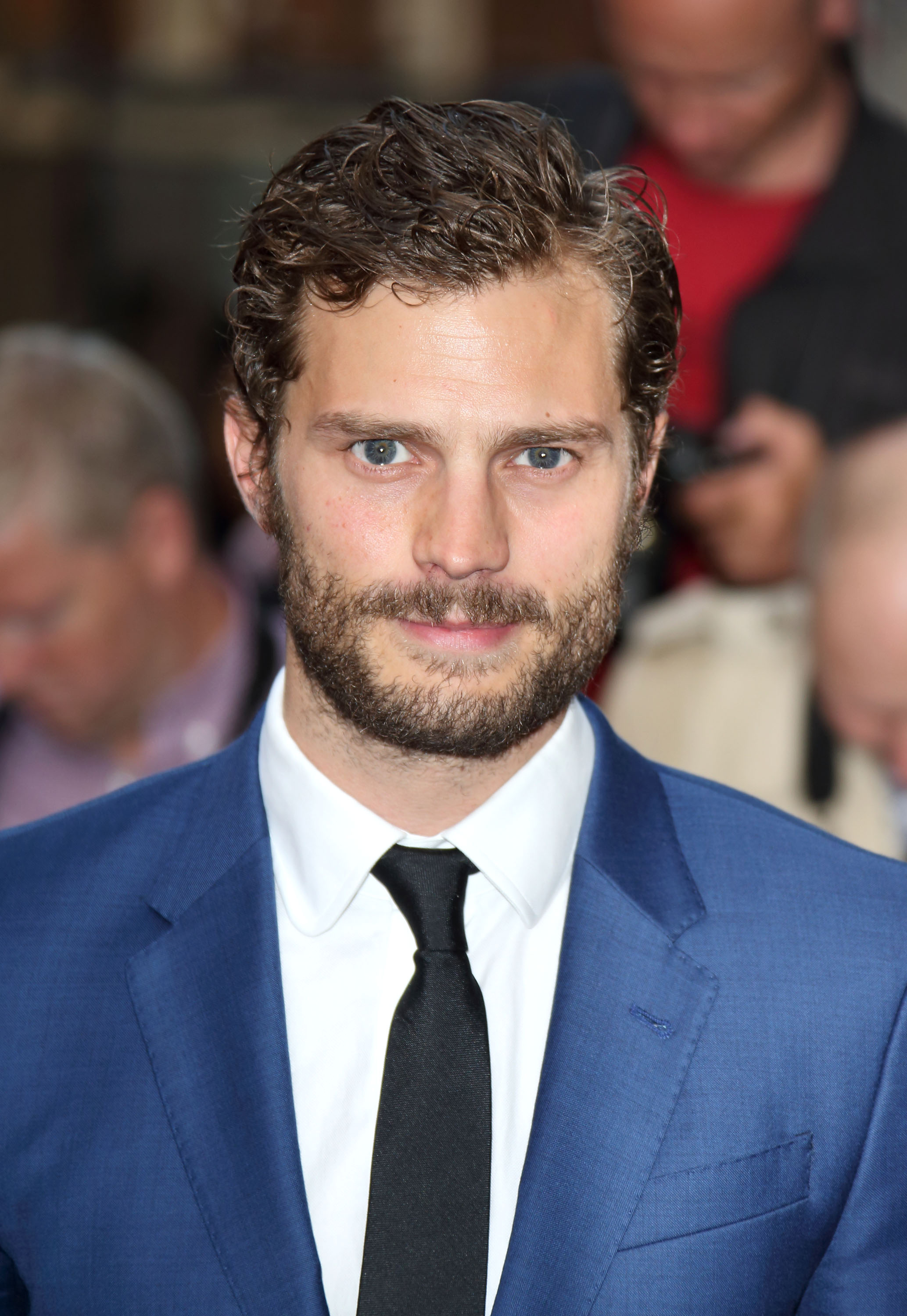 Jamie Dornan attends the GQ Men of the Year awards at The Royal Opera House on September 2, 2014 in London, England.