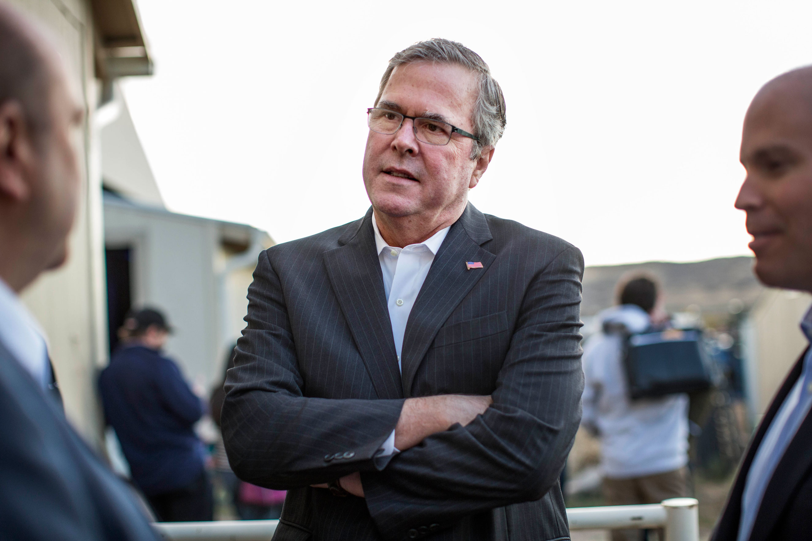 Jeb Bush at the Douglas County Fairgrounds in Castle Rock, Colo., on Oct. 29, 2014