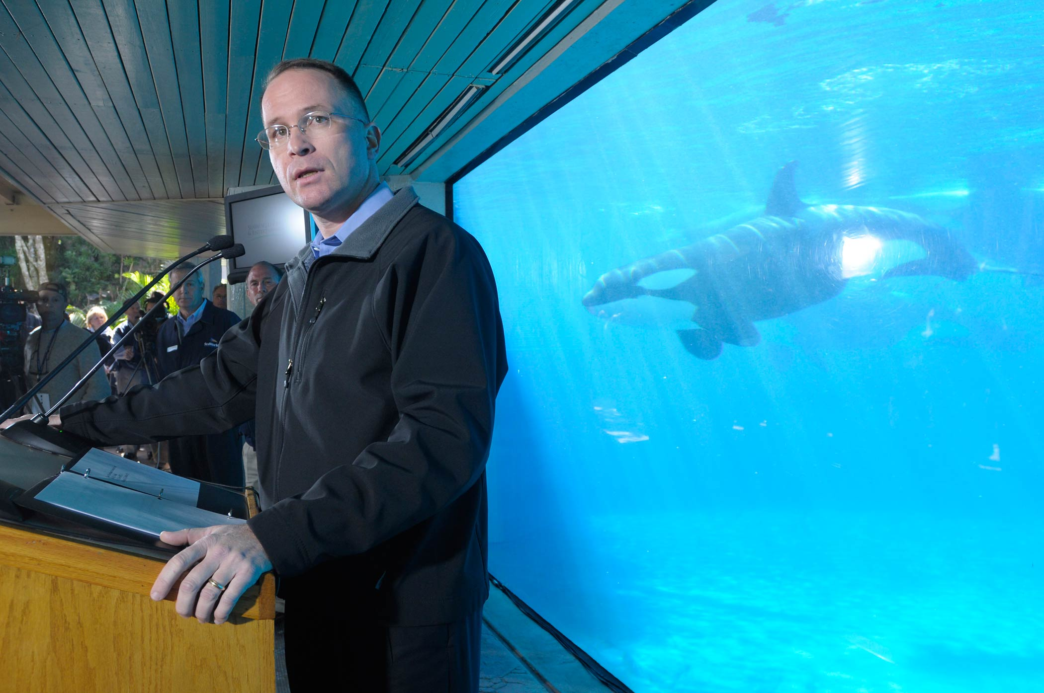 Jim Atchison, former CEO of SeaWorld Parks & Entertainment