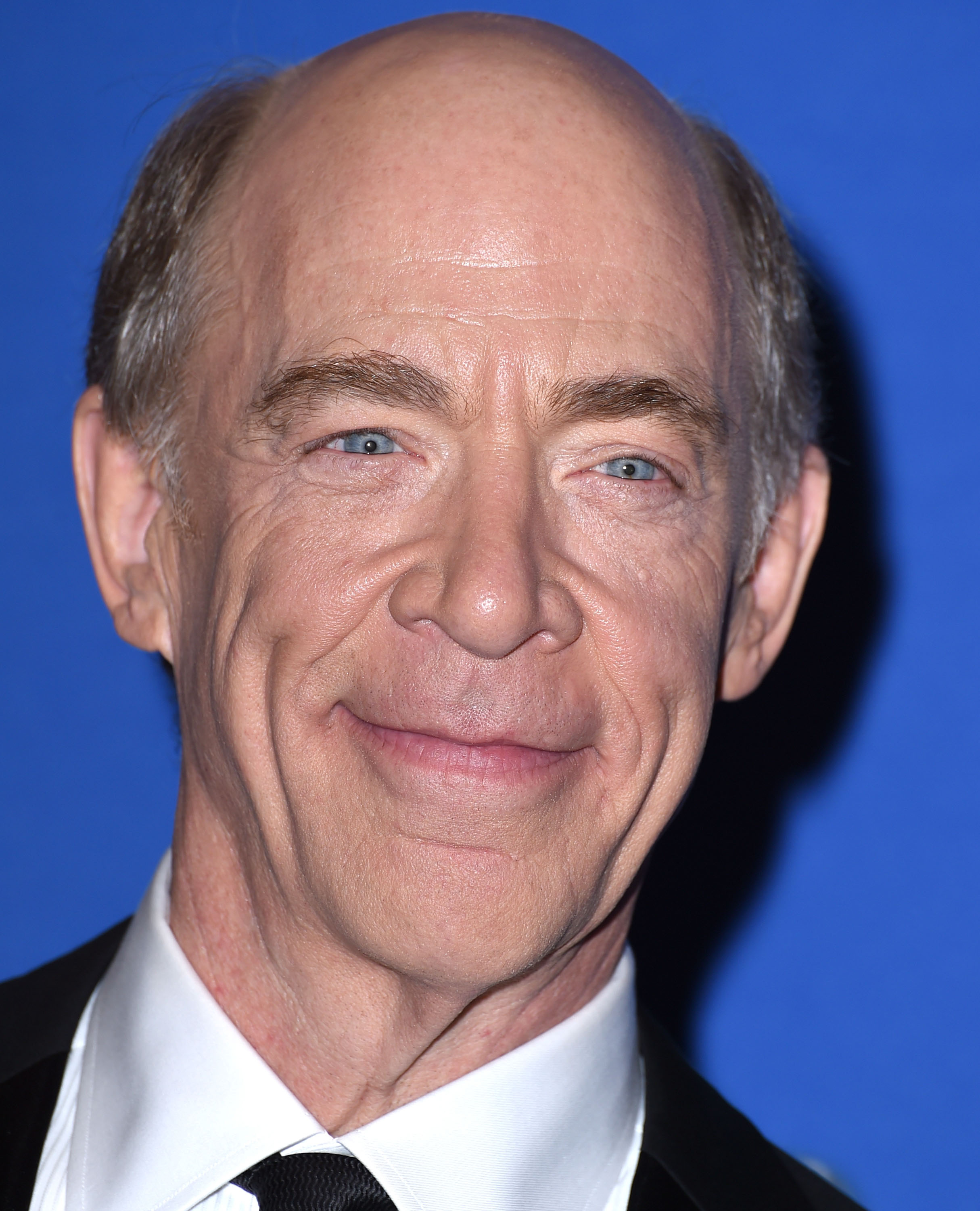 J.K. Simmons poses in the 72nd Annual Golden Globe Awards at The Beverly Hilton Hotel on January 11, 2015 in California.