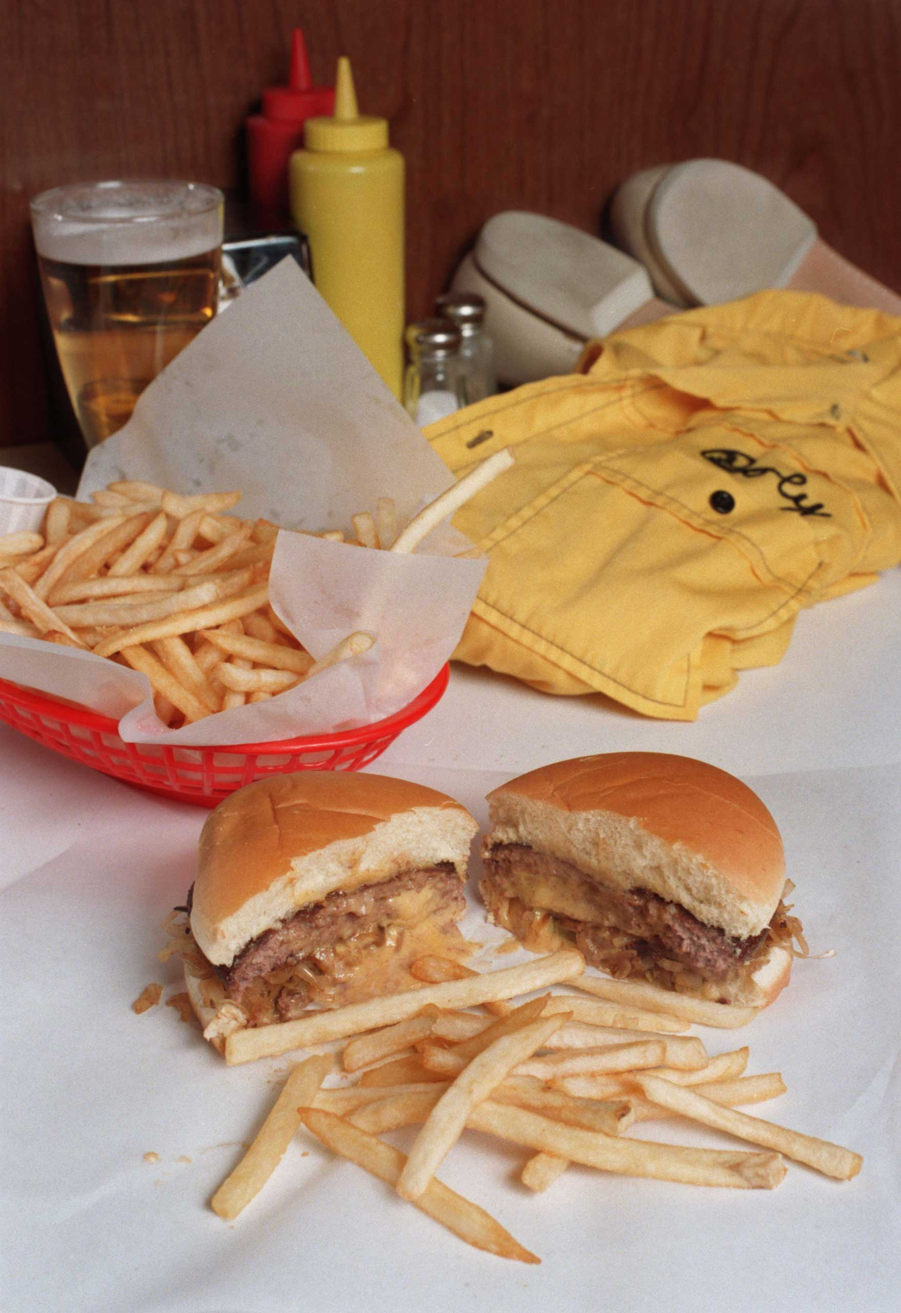 Although this twist on the cheeseburger—in which the cheese is melted inside the patty—was reportedly invented in the 1920s, when chefs were still experimenting with the burger, it gained national attention in 2008, thanks to a feud between two Minneapolis bars that both claim to have  invented  it. Since then, there have been numerous imitators, proving that a little innovation and a dash of hype is all it takes to reinvigorate enthusiasm for a classic. Correction: The original version of this story misstated the date of invention of the Jucy Lucy. It was put on the menu at Matt's in 1954.