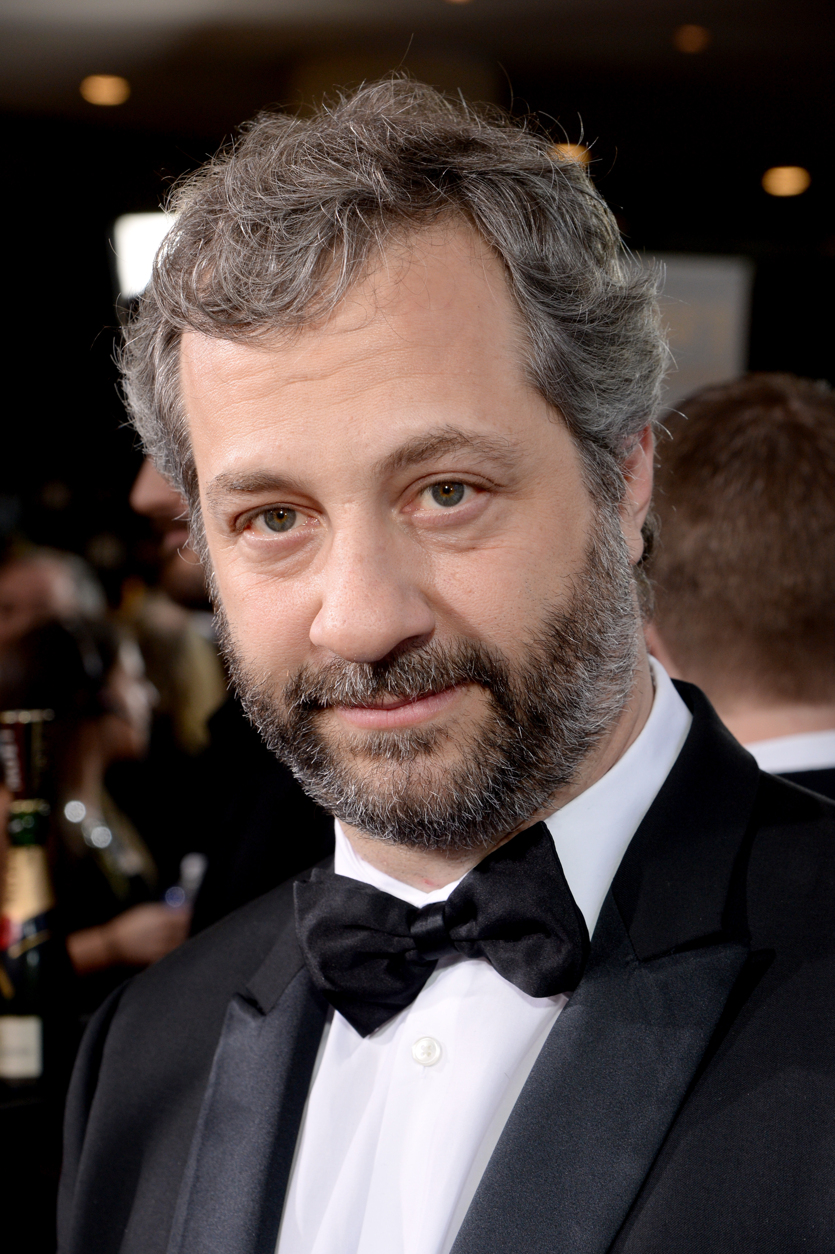Director Judd Apatow attends the 72nd Annual Golden Globe Awards at The Beverly Hilton Hotel on Jan. 11, in California.