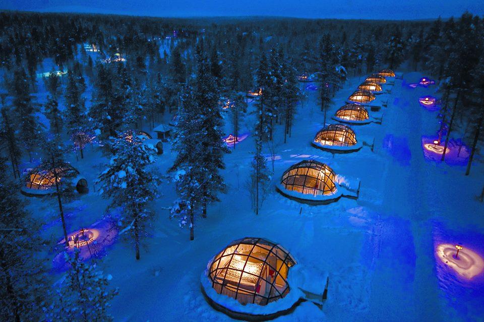 Igloo Village Kakslauttanen, Saariselka, Finland