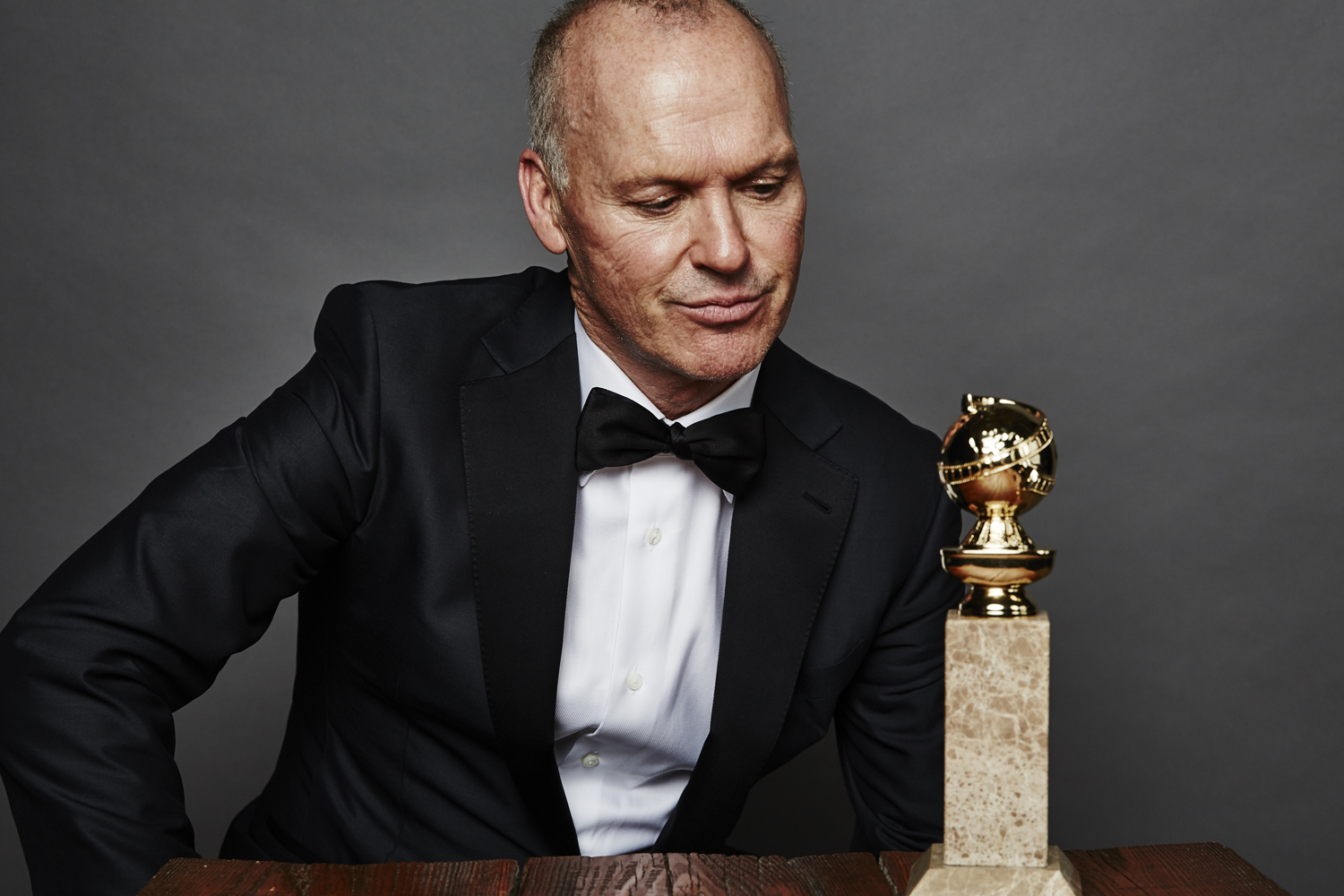 Michael Keaton poses for a portrait during the 72nd Annual Golden Globe Awards on Jan. 11, 2015, in Beverly Hills, Calif.