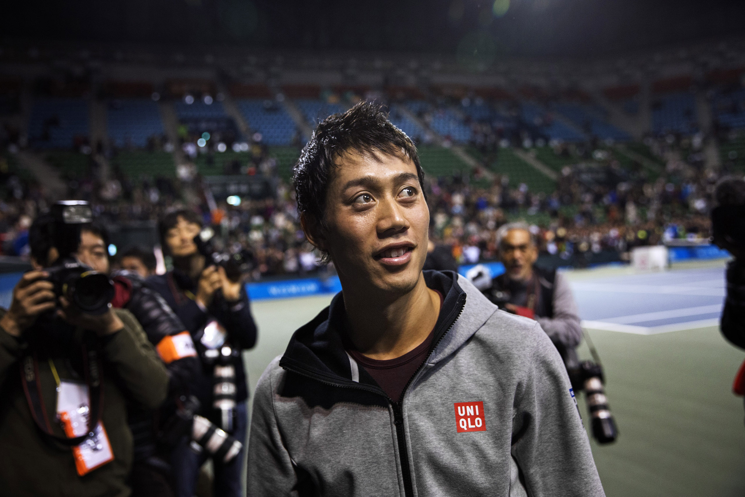 Nishikori, who reached the final of the U.S. Open in 2014, is now the No. 5–ranked tennis player in the world